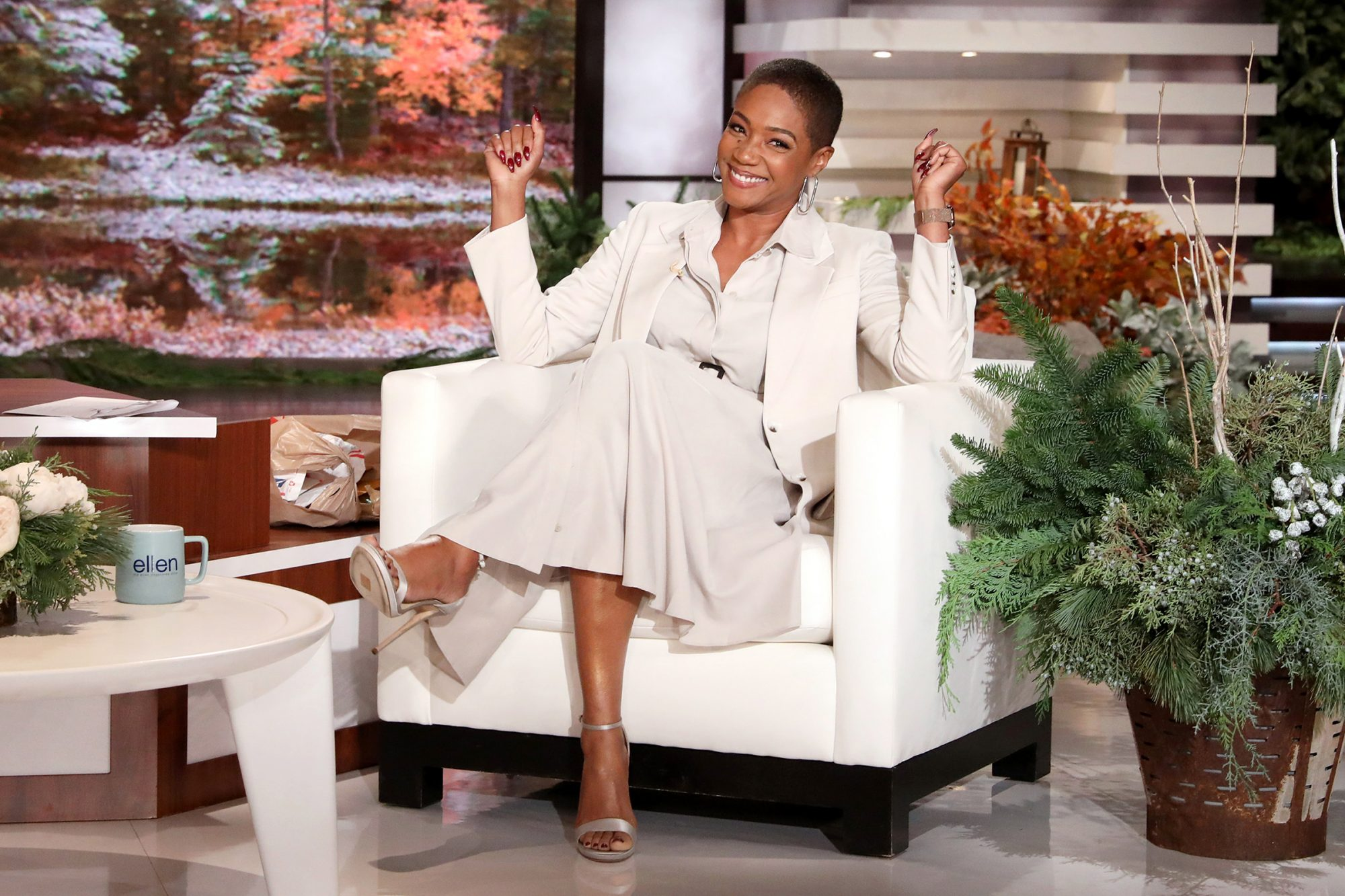 "Comedian and actress Tiffany Haddish guest hosts ""The Ellen DeGeneres Show"" for a third time airing Friday, November 20th"