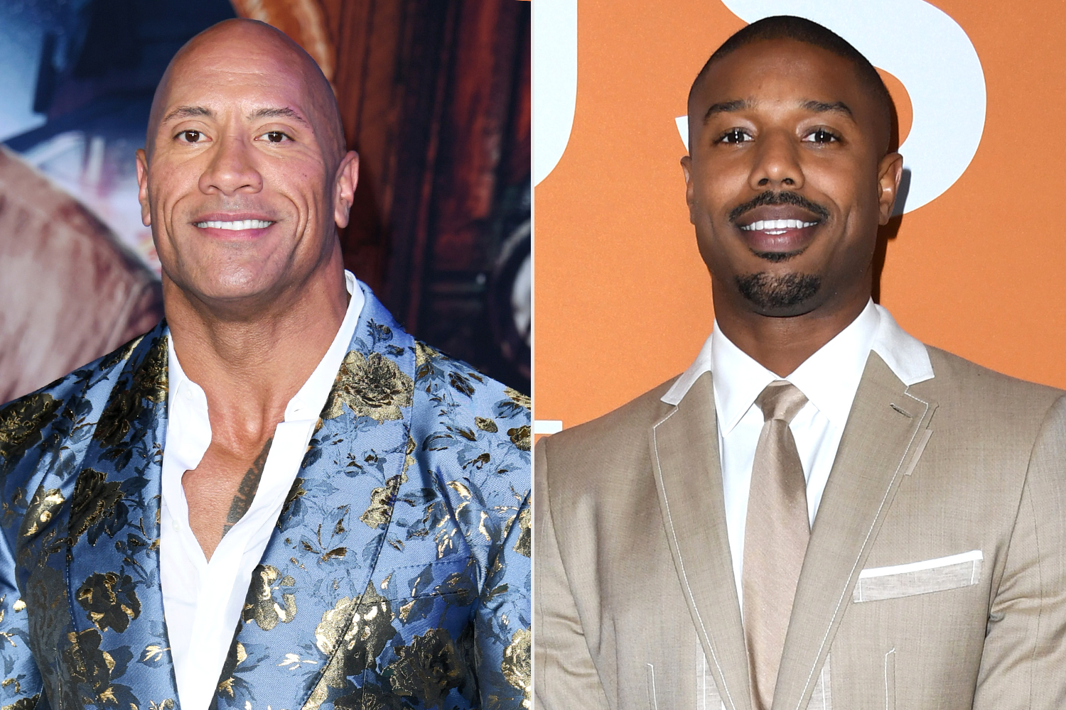 Dwayne Johnson, Michael B Jordan