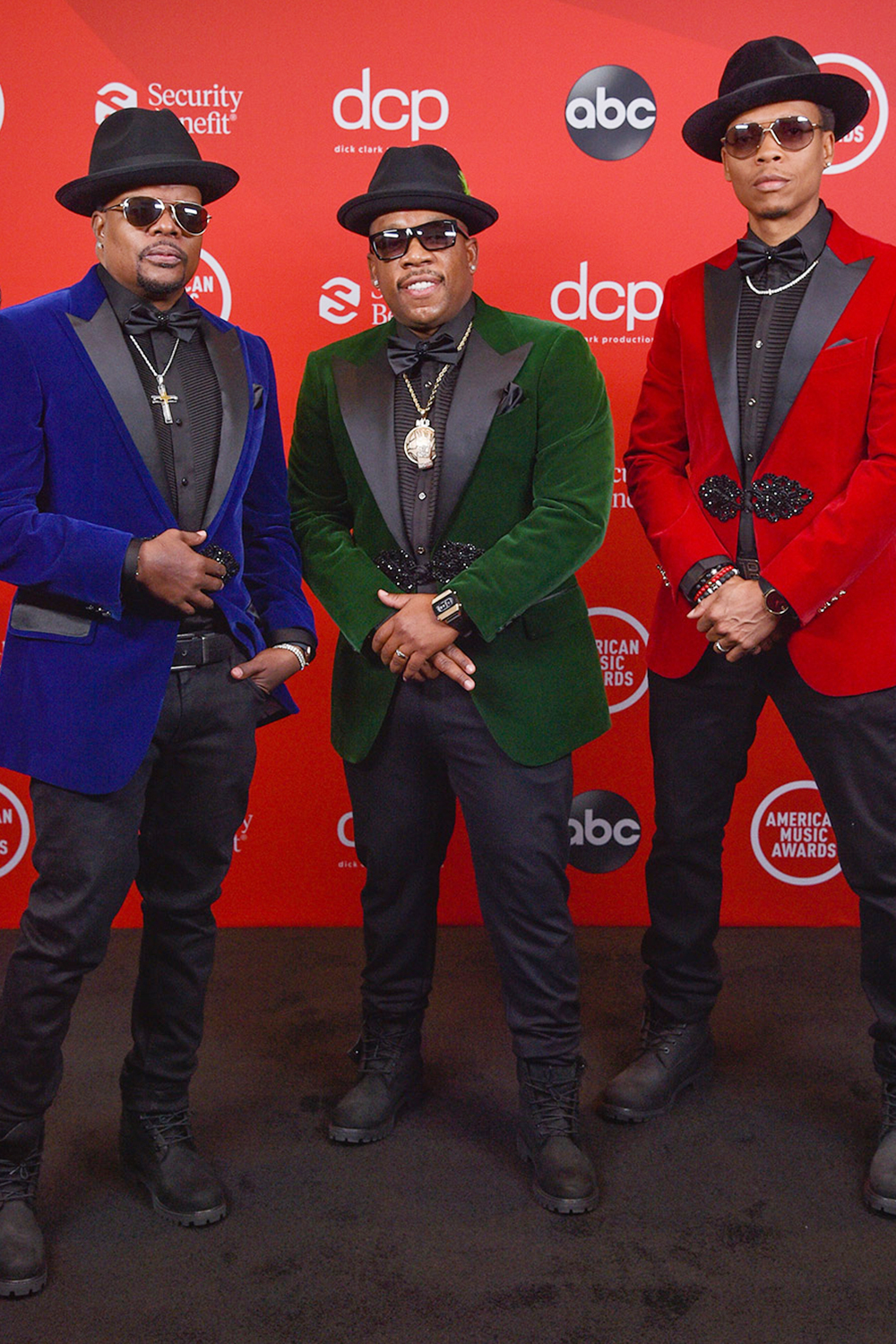 Ricky Bell, Michael Bivins and Ronnie DeVoe of Bell Biv DeVoe