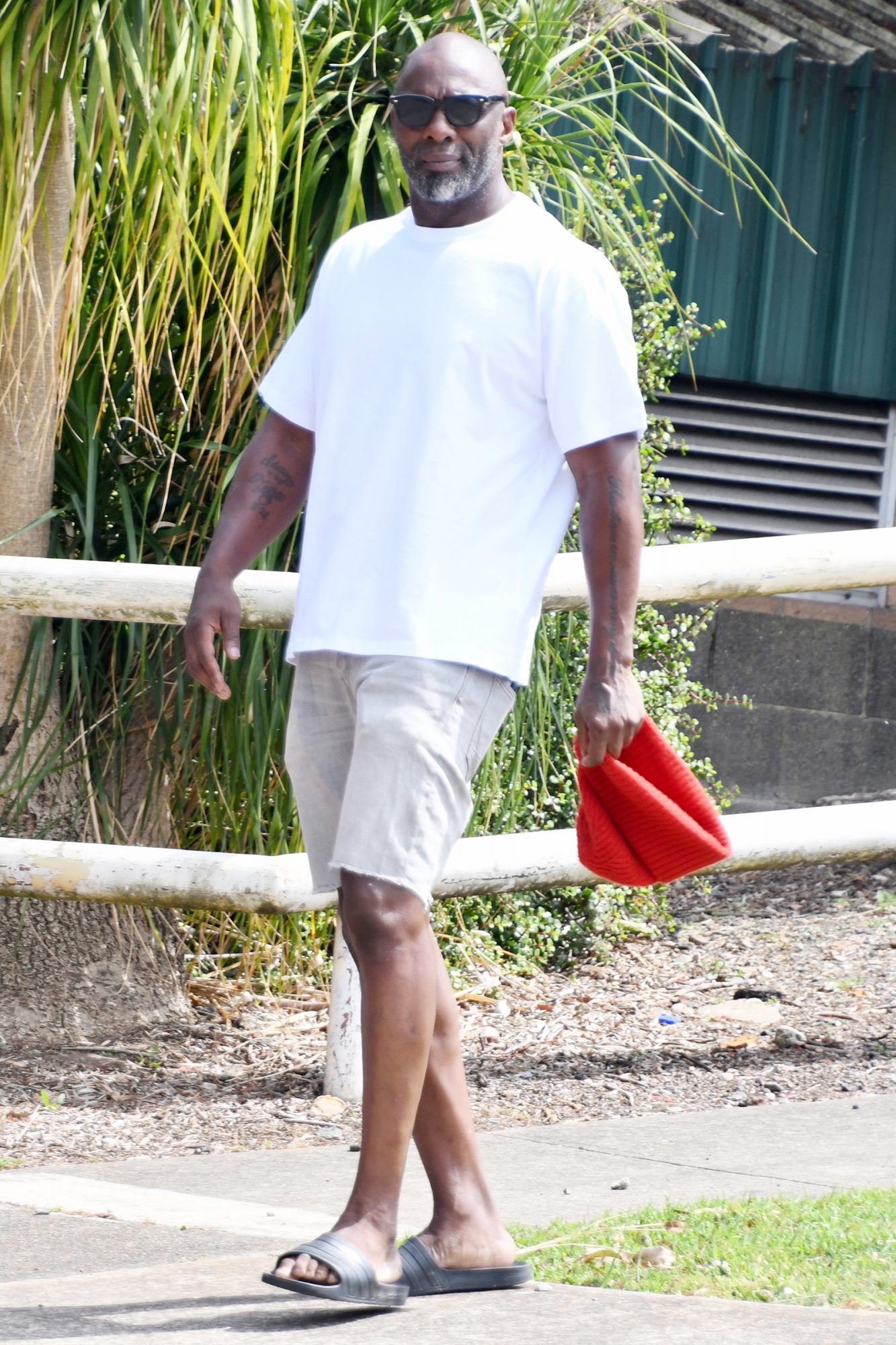 Idris Elba Spotted For The First Time In Sydney, Australia
