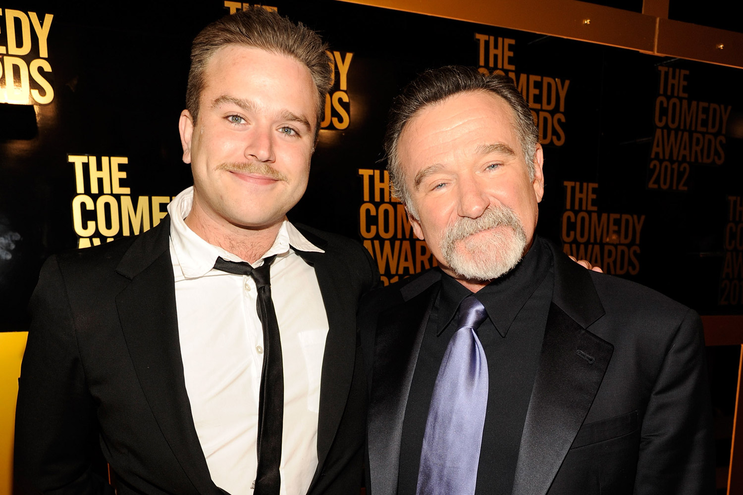 Zak and Robin Williams