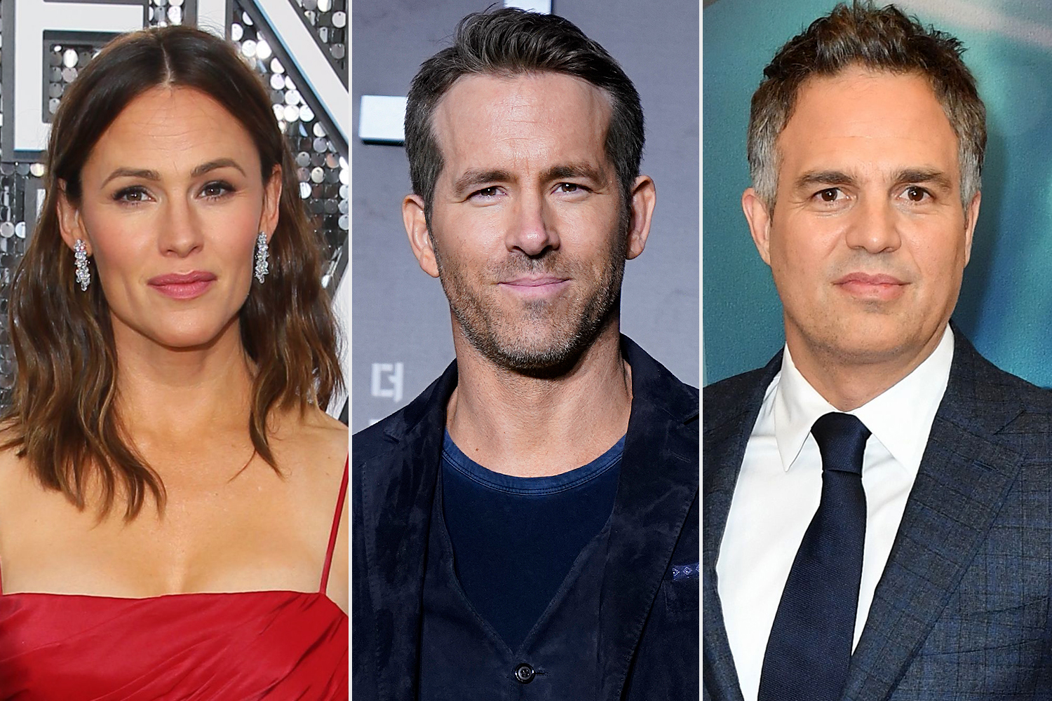 Jennifer Garner; Ryan Reynolds; Mark Ruffalo