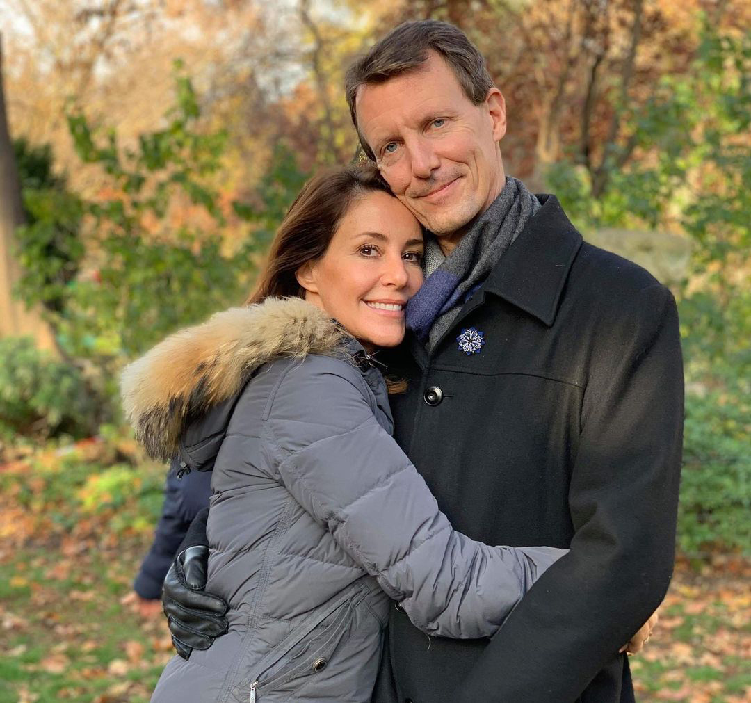 Prince Joachim and Princess Marie of Denmark