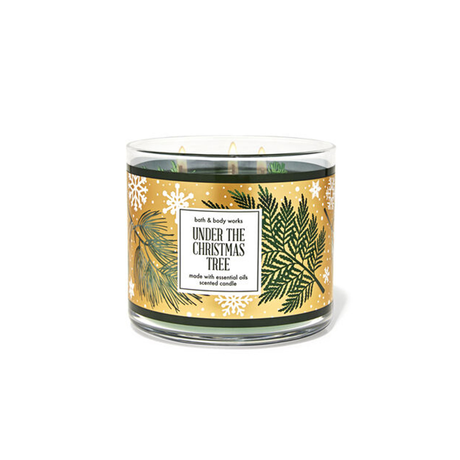 Under the Christmas Tree 3-Wick Candle