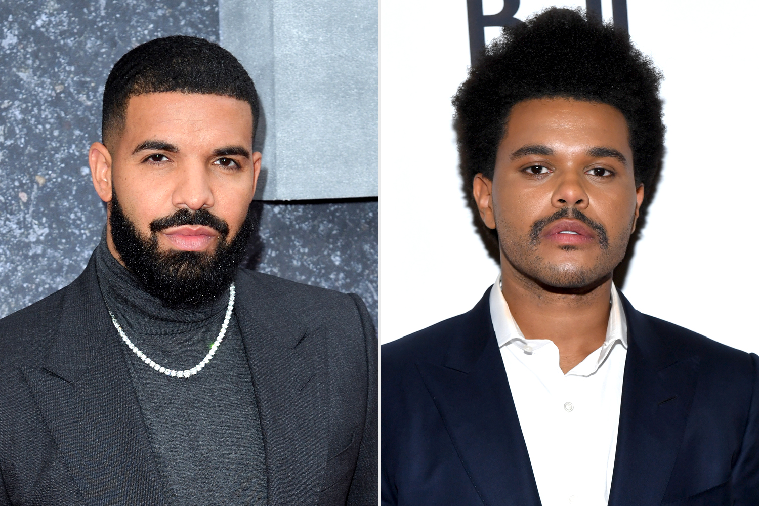 Drake; The Weeknd
