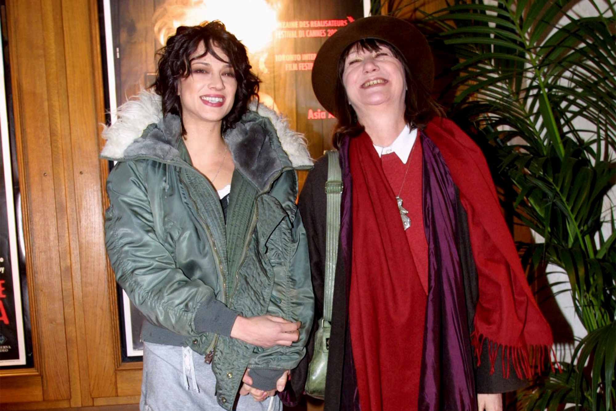 Asia Argento with her mother Daria Nicolodi