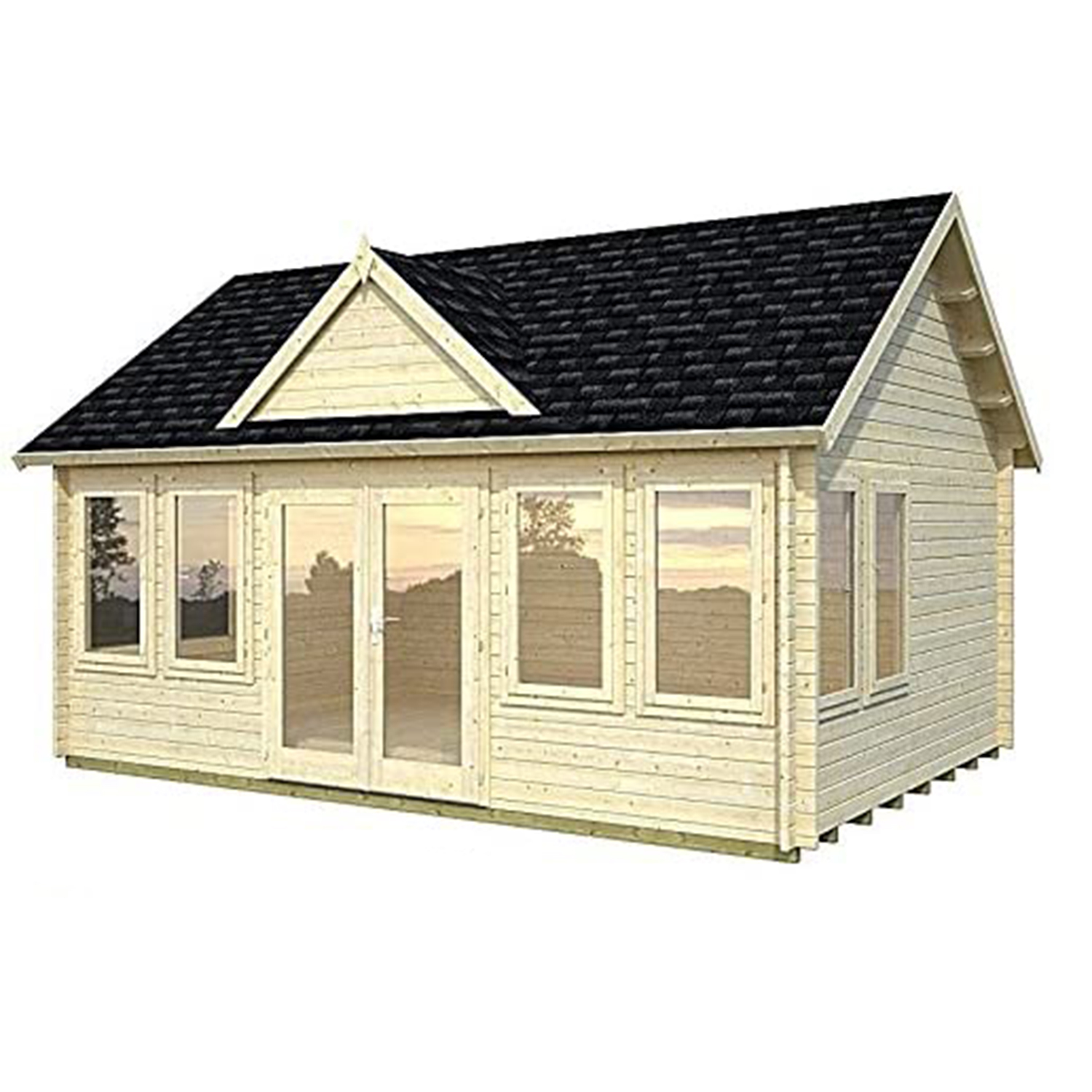 Allwood Claudia | 209 SQF Cabin Kit, Garden House