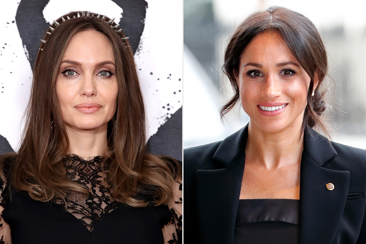 Angelina Jolie; Meghan, Duchess of Sussex