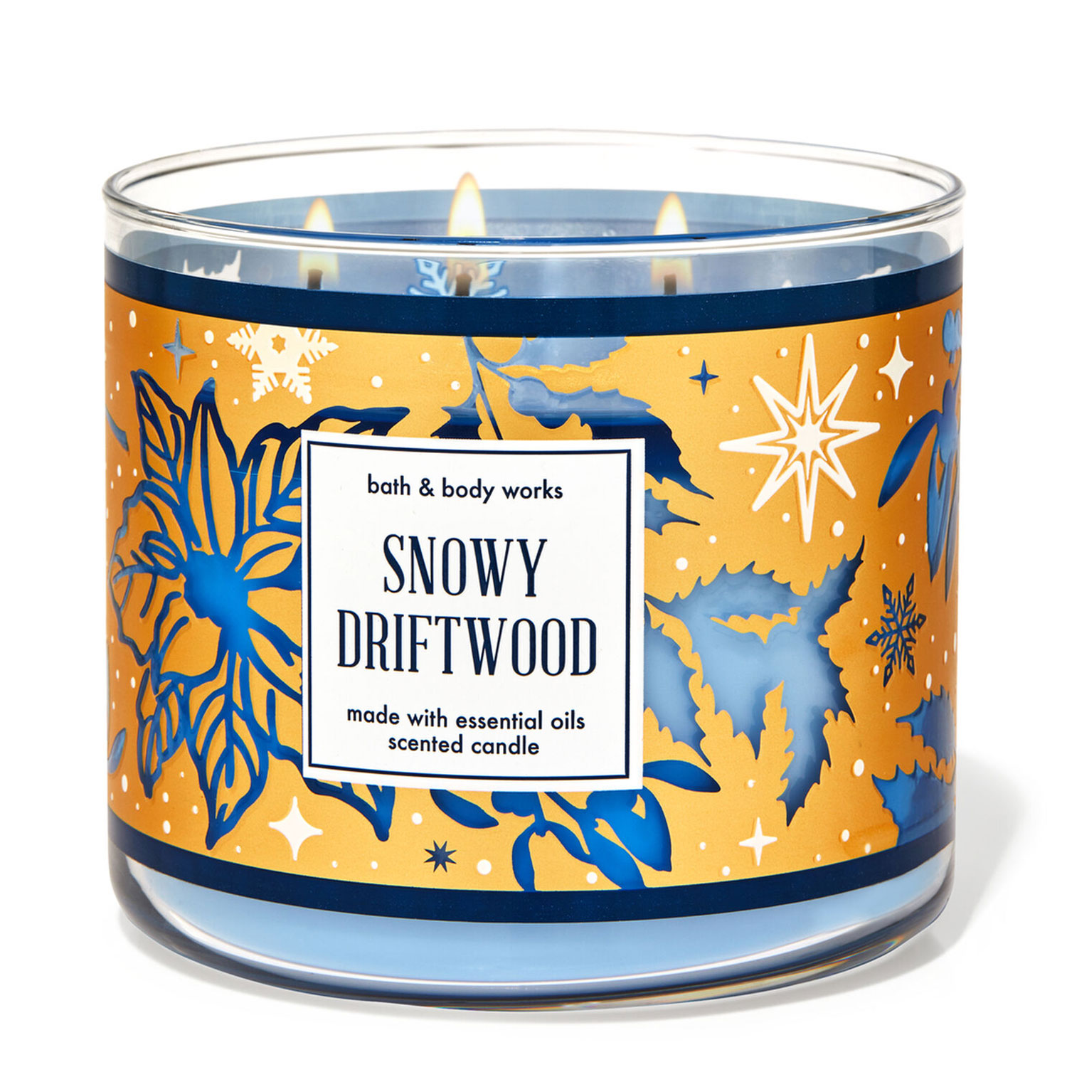 Snowy Driftwood 3-Wick Candle