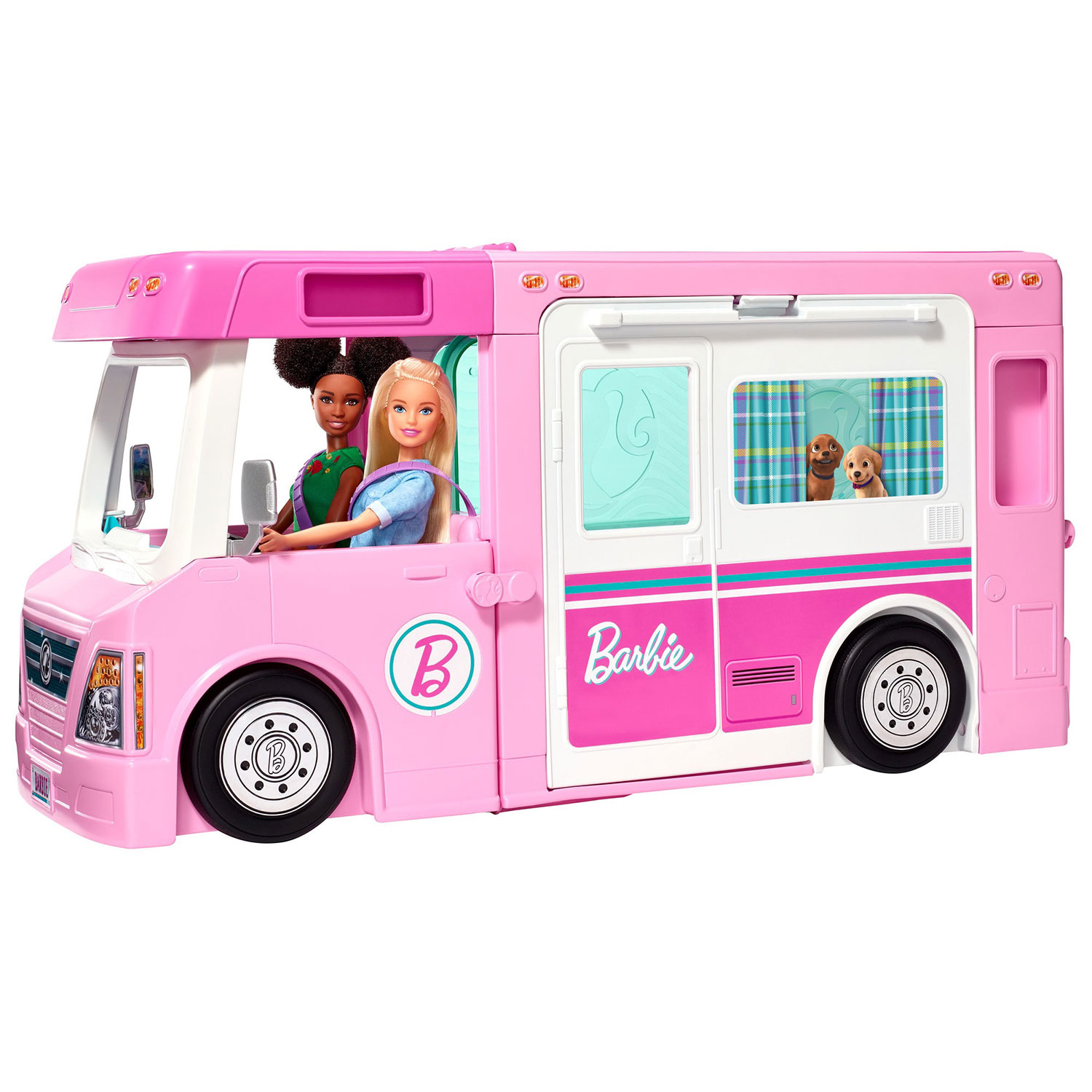 Barbie Estate 3-In-1 Dreamcamper Vehicle With Pool, Truck