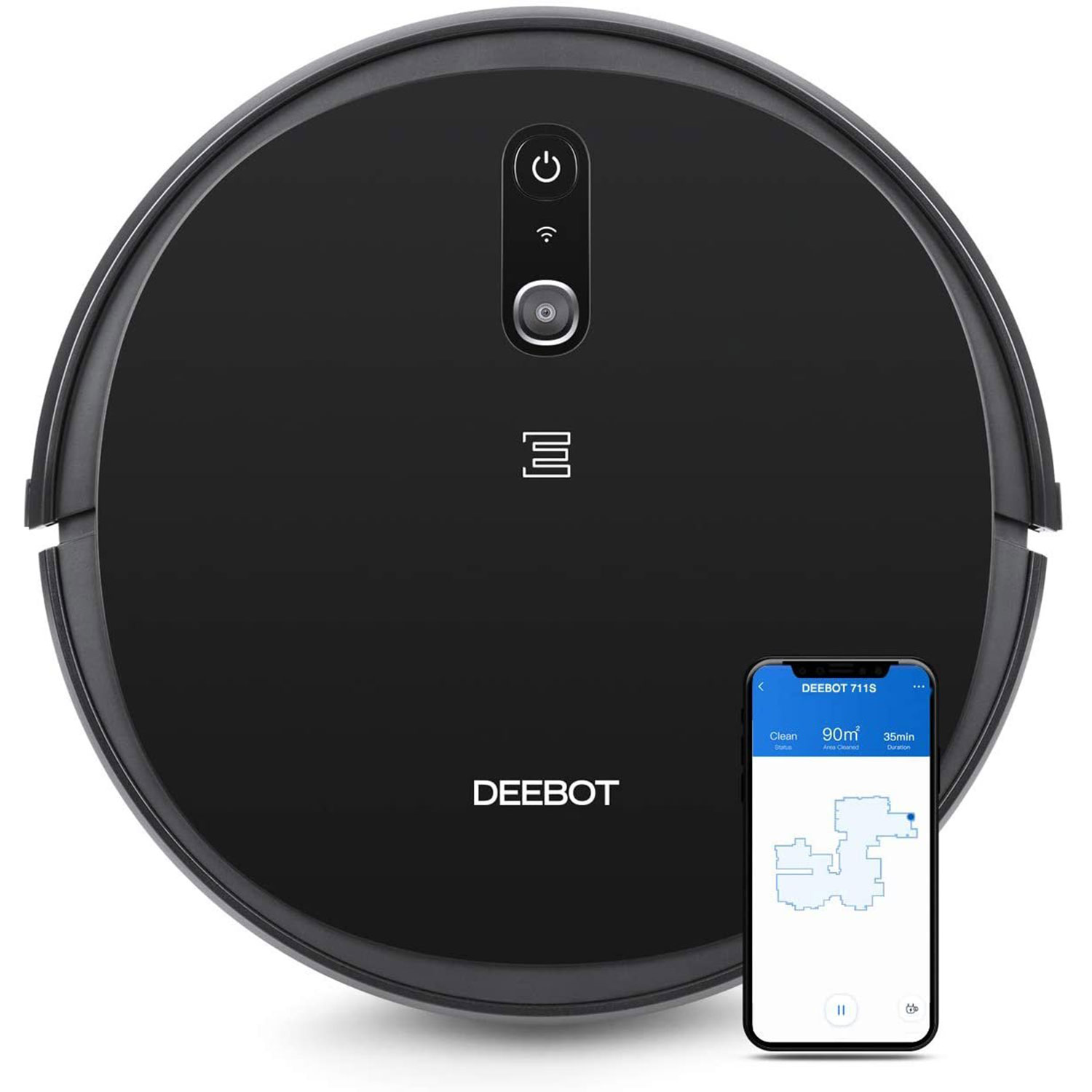 DEEBOT 711S Robot Vacuum Cleaner with App