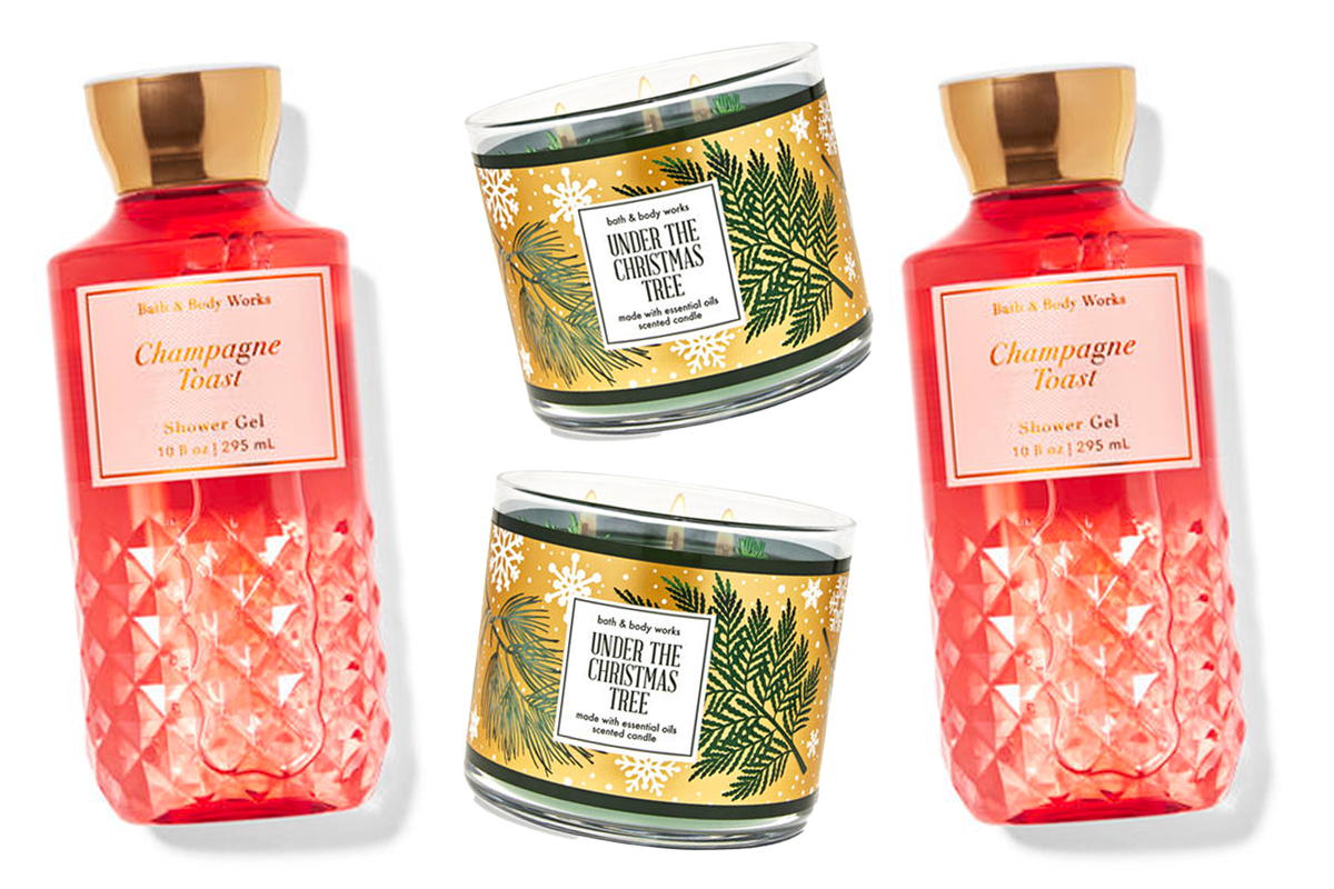 Bath and Body Works Holiday Scents