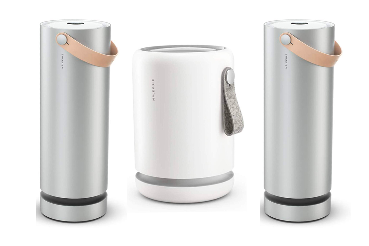 Molekule Air Mini Small Room Air Purifier with PECO Technology for Allergens, Pollutants