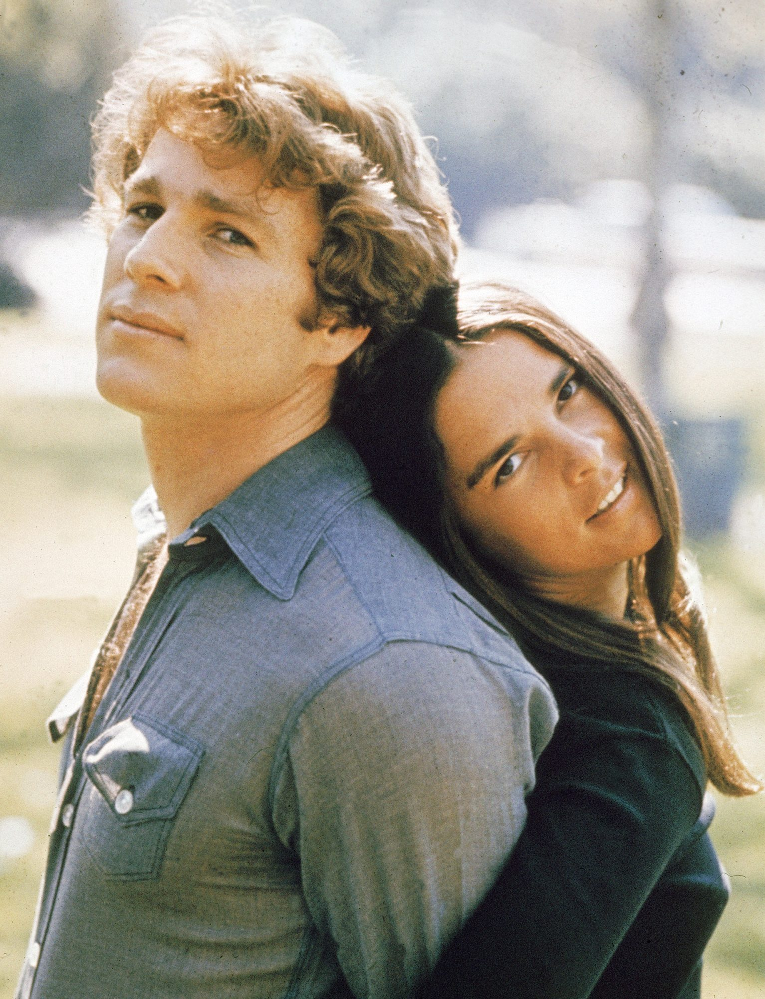 Ryan O'Neal And Ali MacGraw In 'Love Story,' 1970