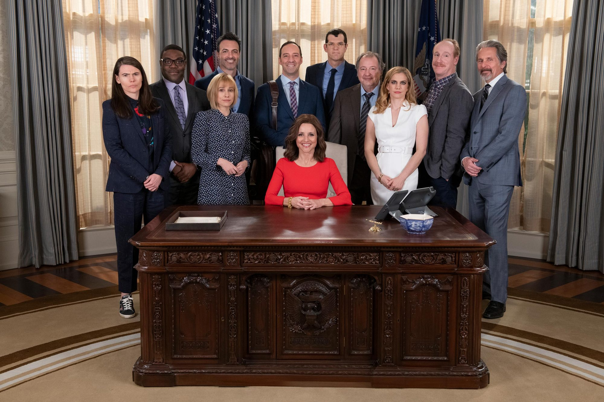 The cast of HBO's Veep