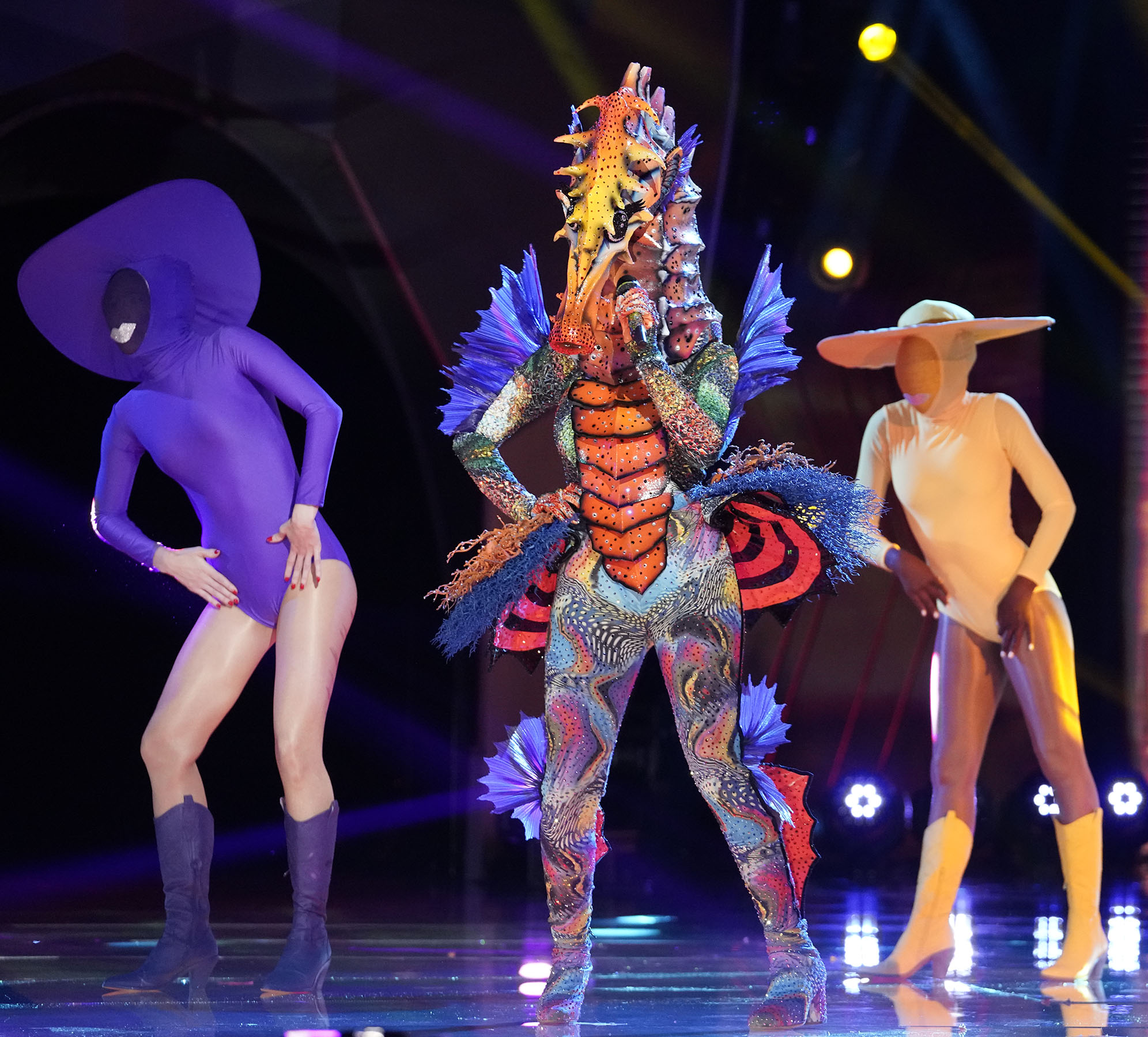 THE MASKED SINGER: Seahorse