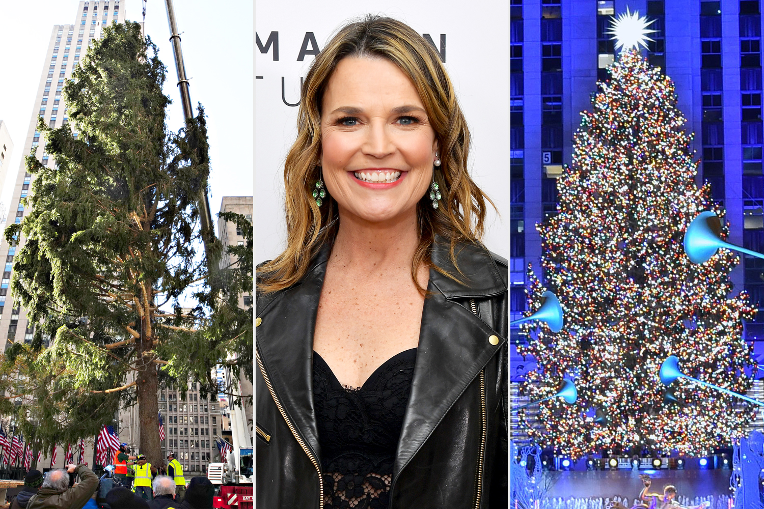 Savannah Guthrie Rockefeller Center Christmas Tree