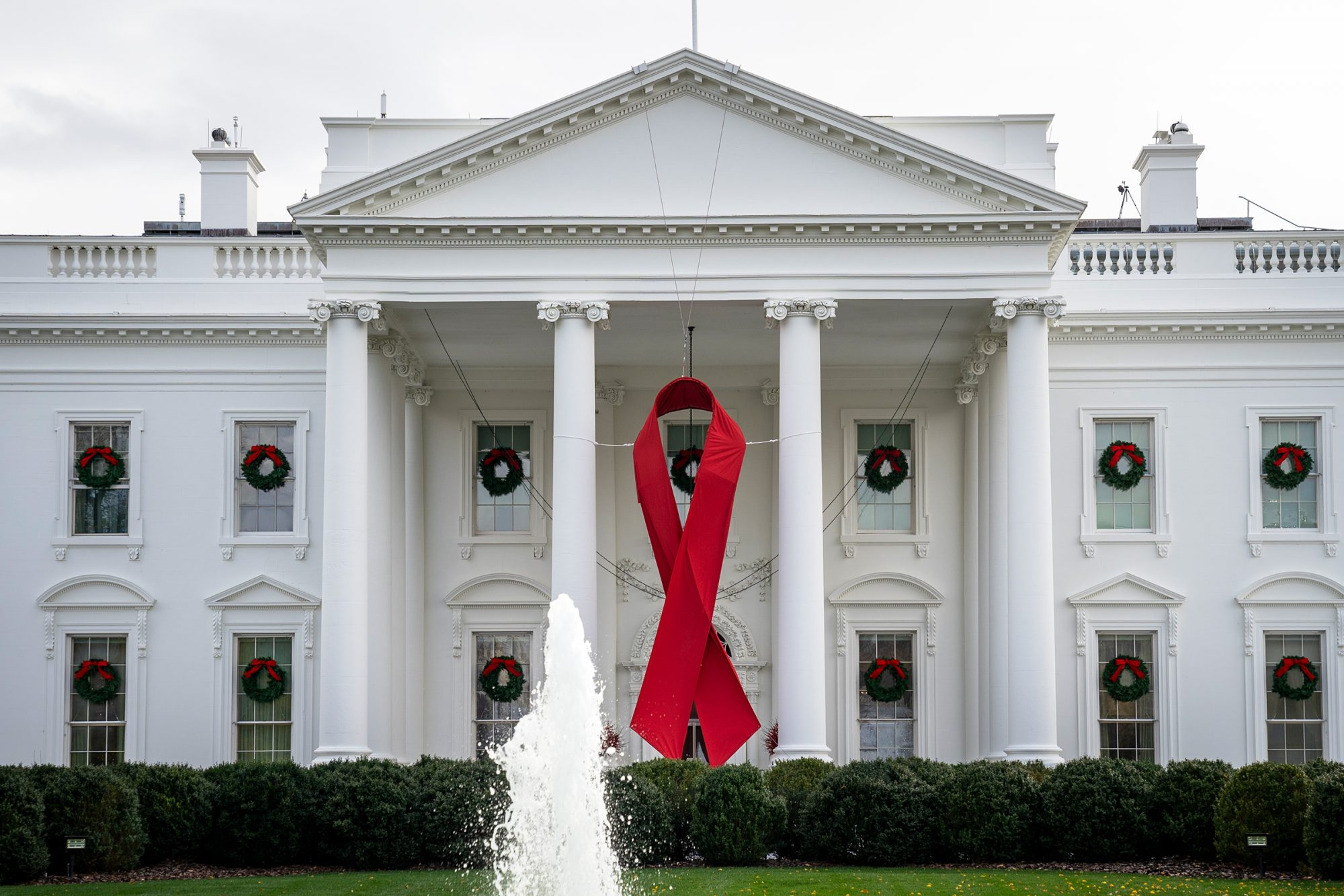 White House Commemorates World AIDS Day