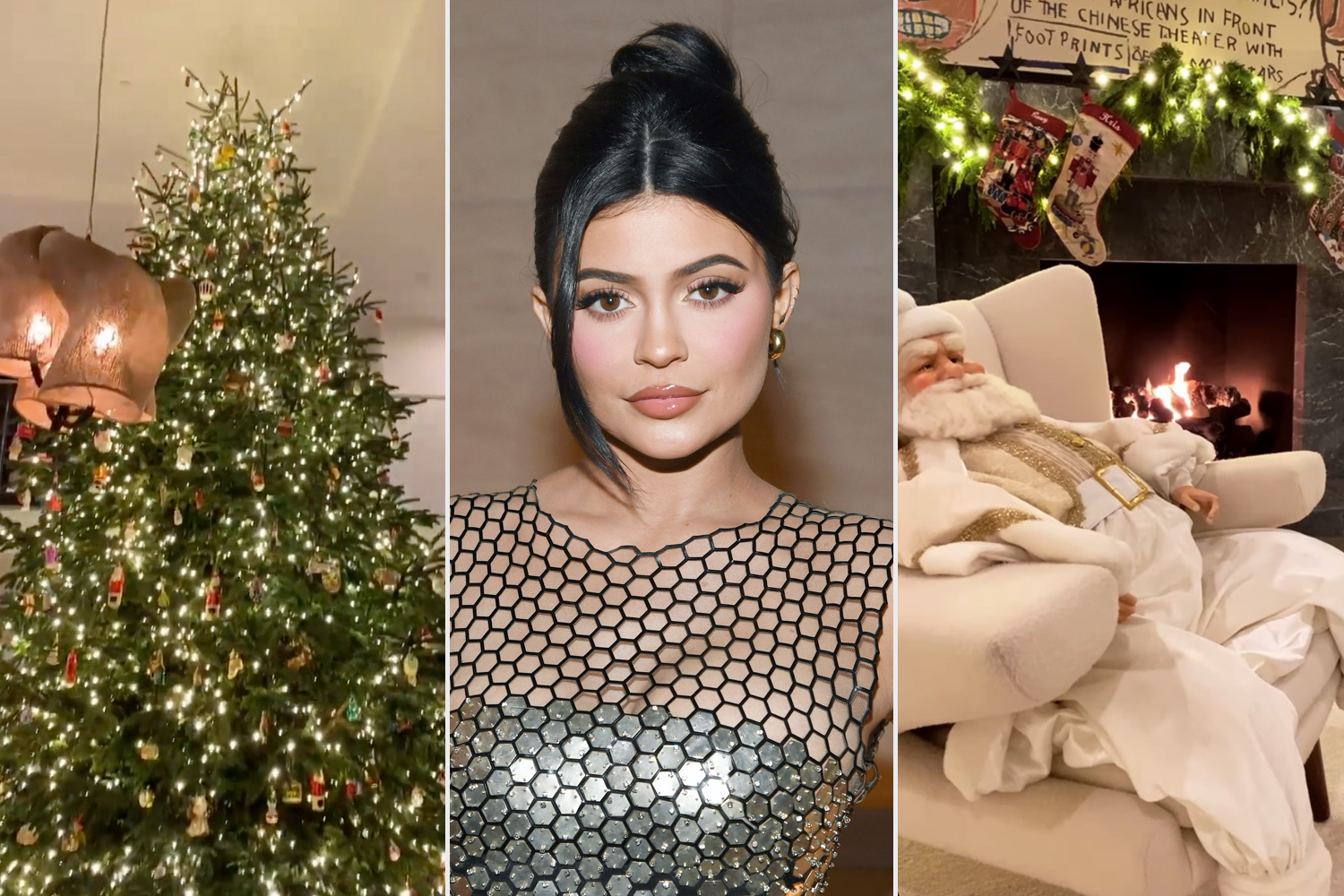 Kylie Jenner Christmas Decorations
