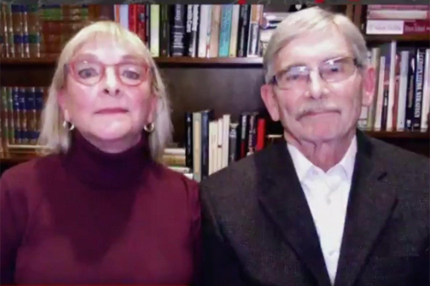 Dr. Thomas Froehlich and Susan Froehlich