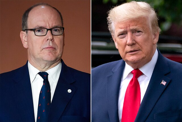 prince albert, donald trump