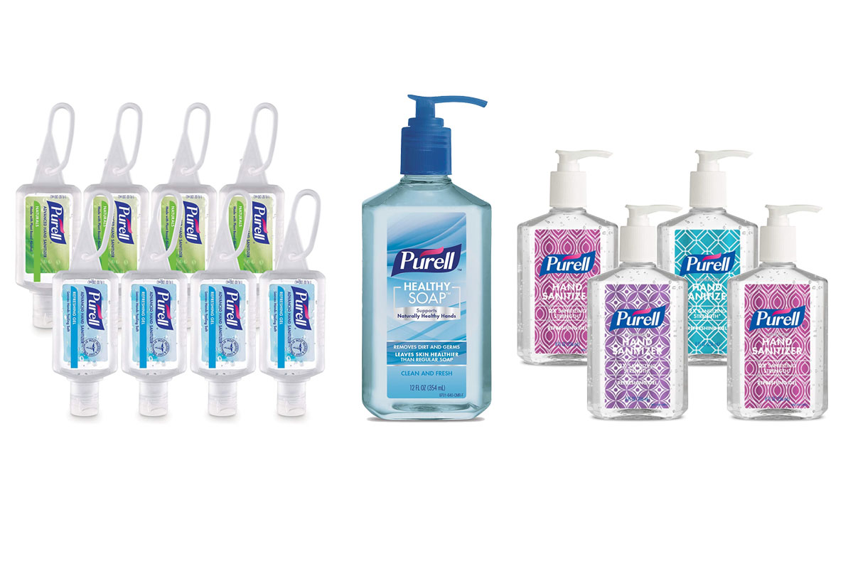 purell soap, purell sanitizer, purell travel sanitizer