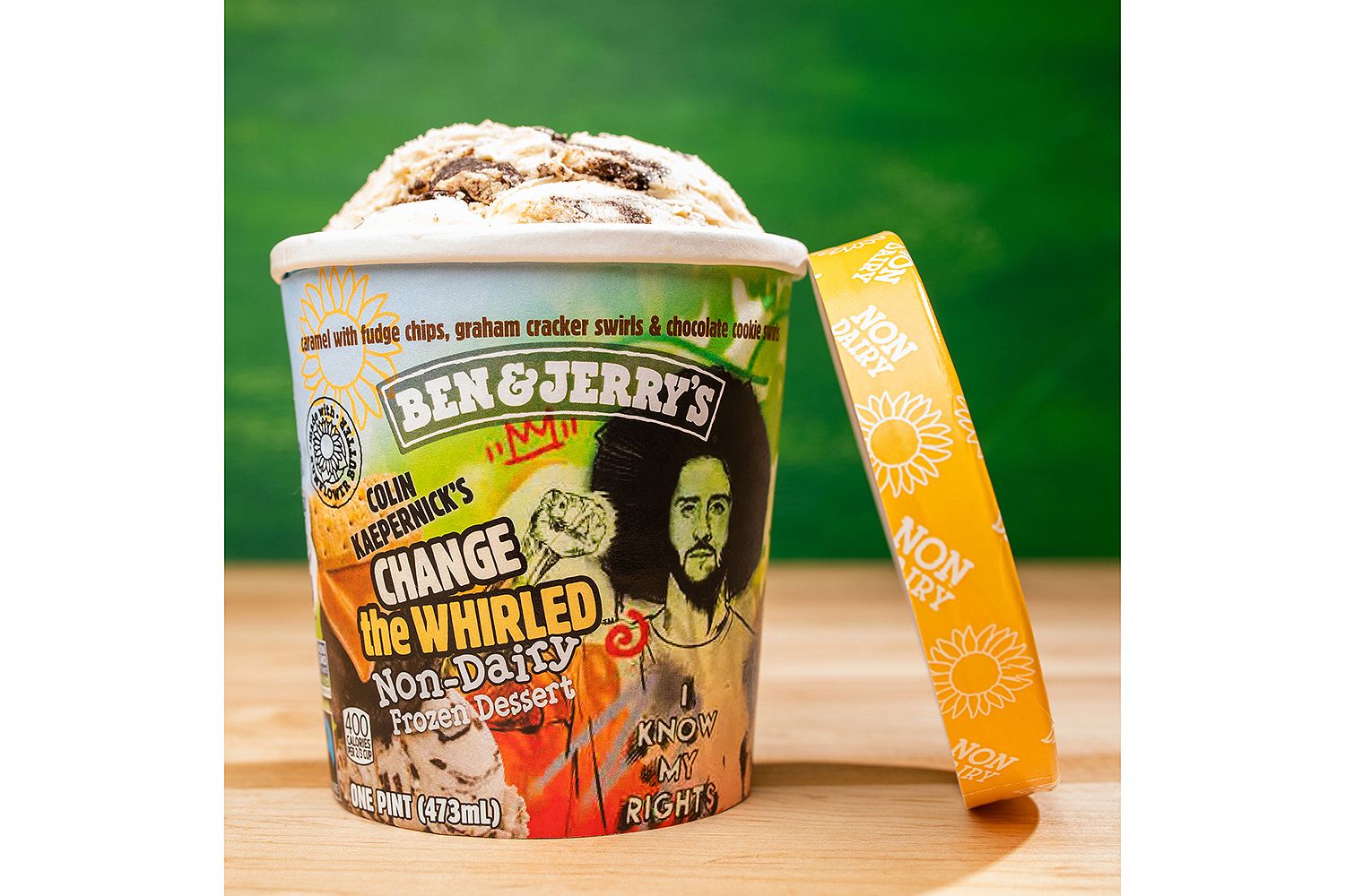 Ben & Jerry's x Colin Kaepernick Change the Whirled