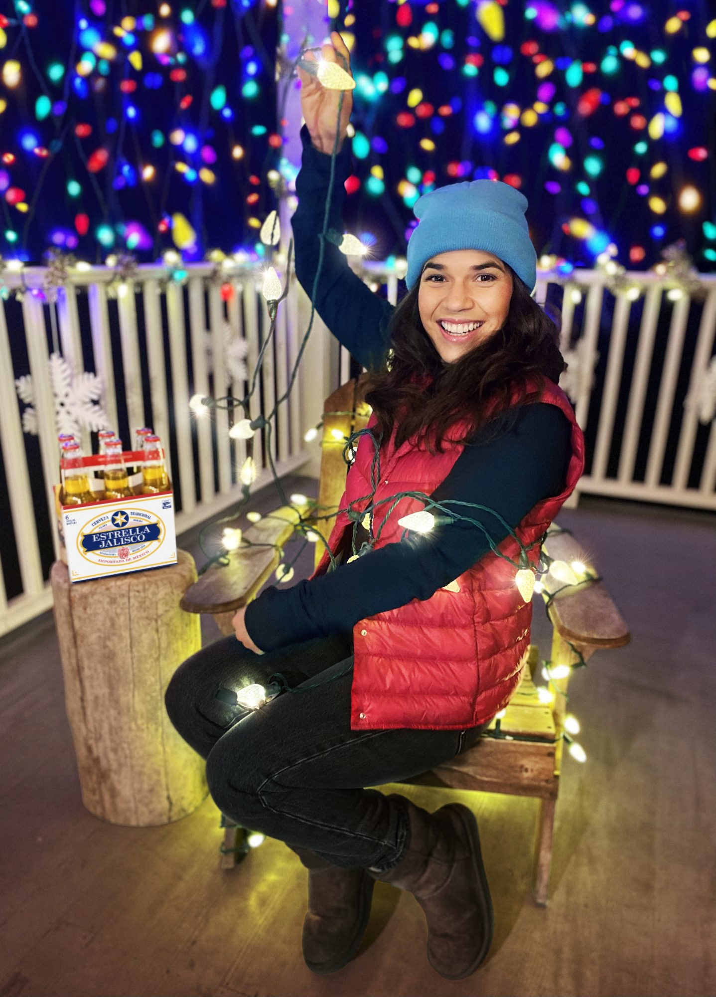America ferrera is giving back over the holidays