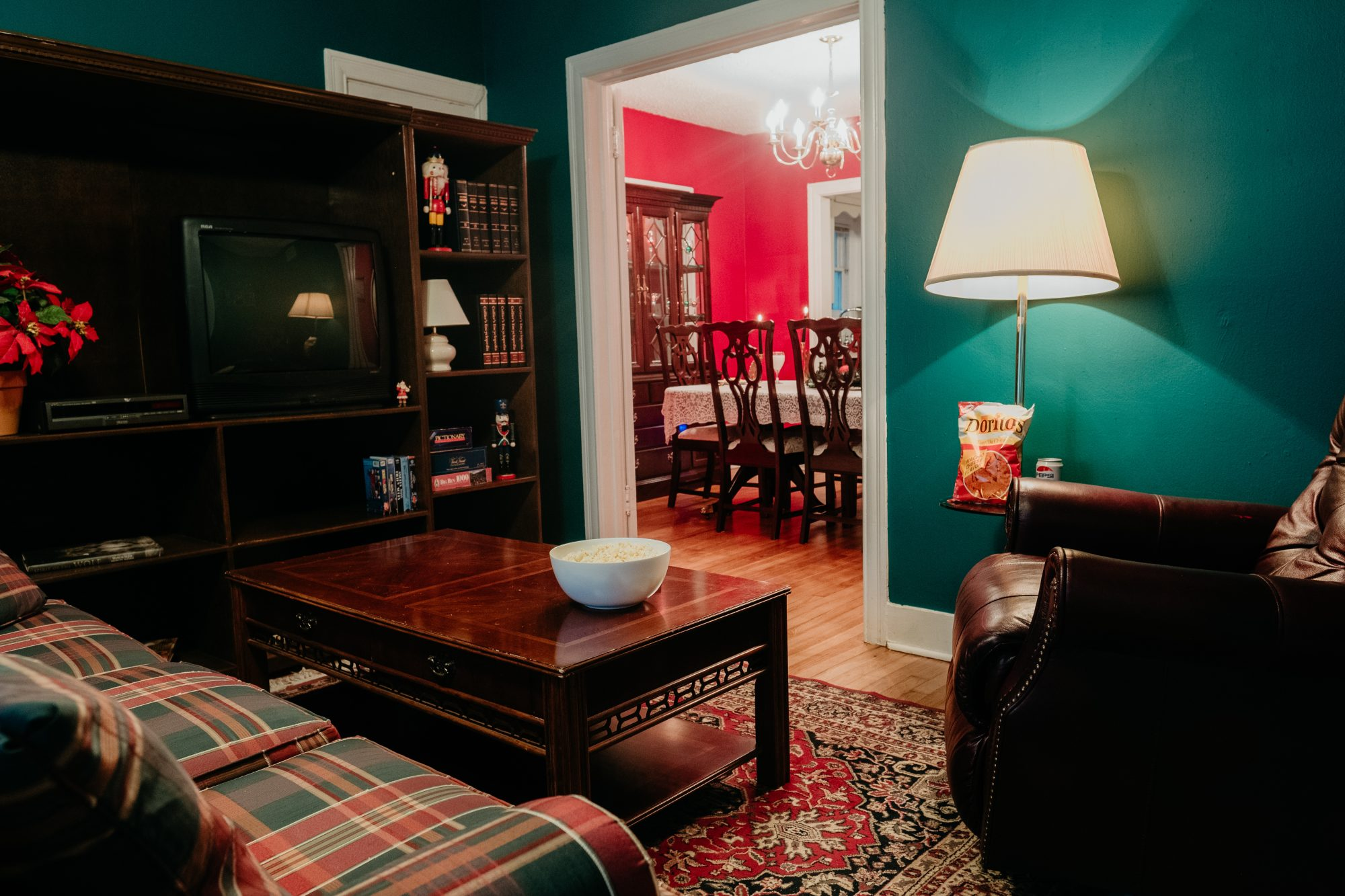 home alone-themed airbnb