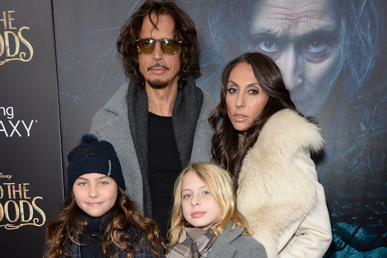 Chris Cornell and Vicky Karayiannis family