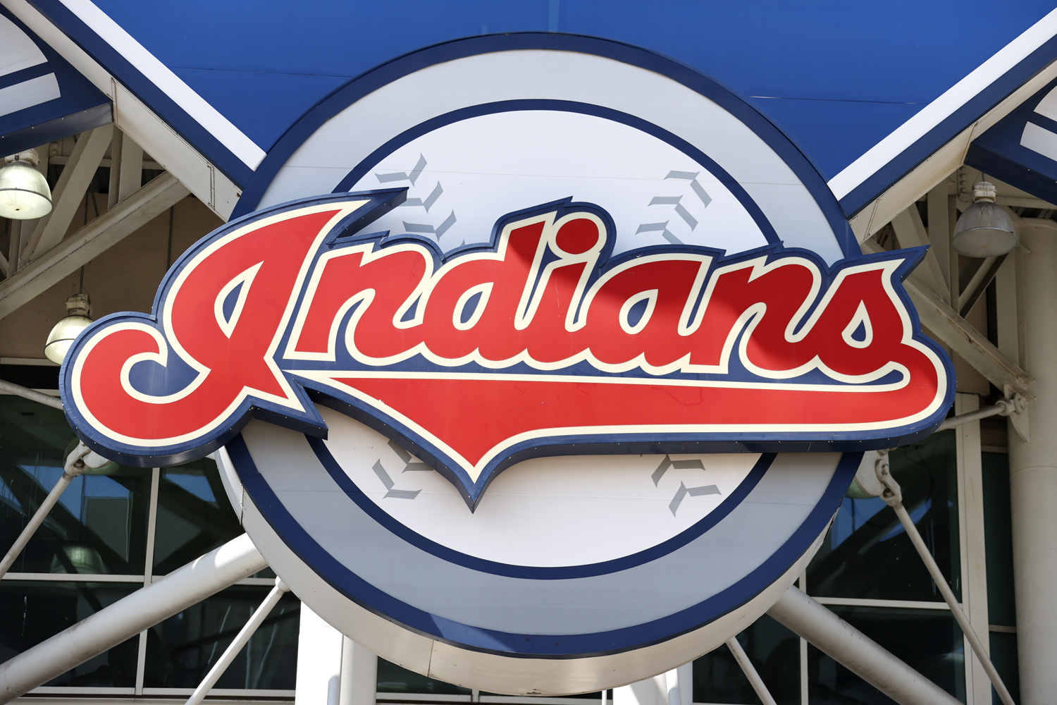 The Cleveland Indians team logo