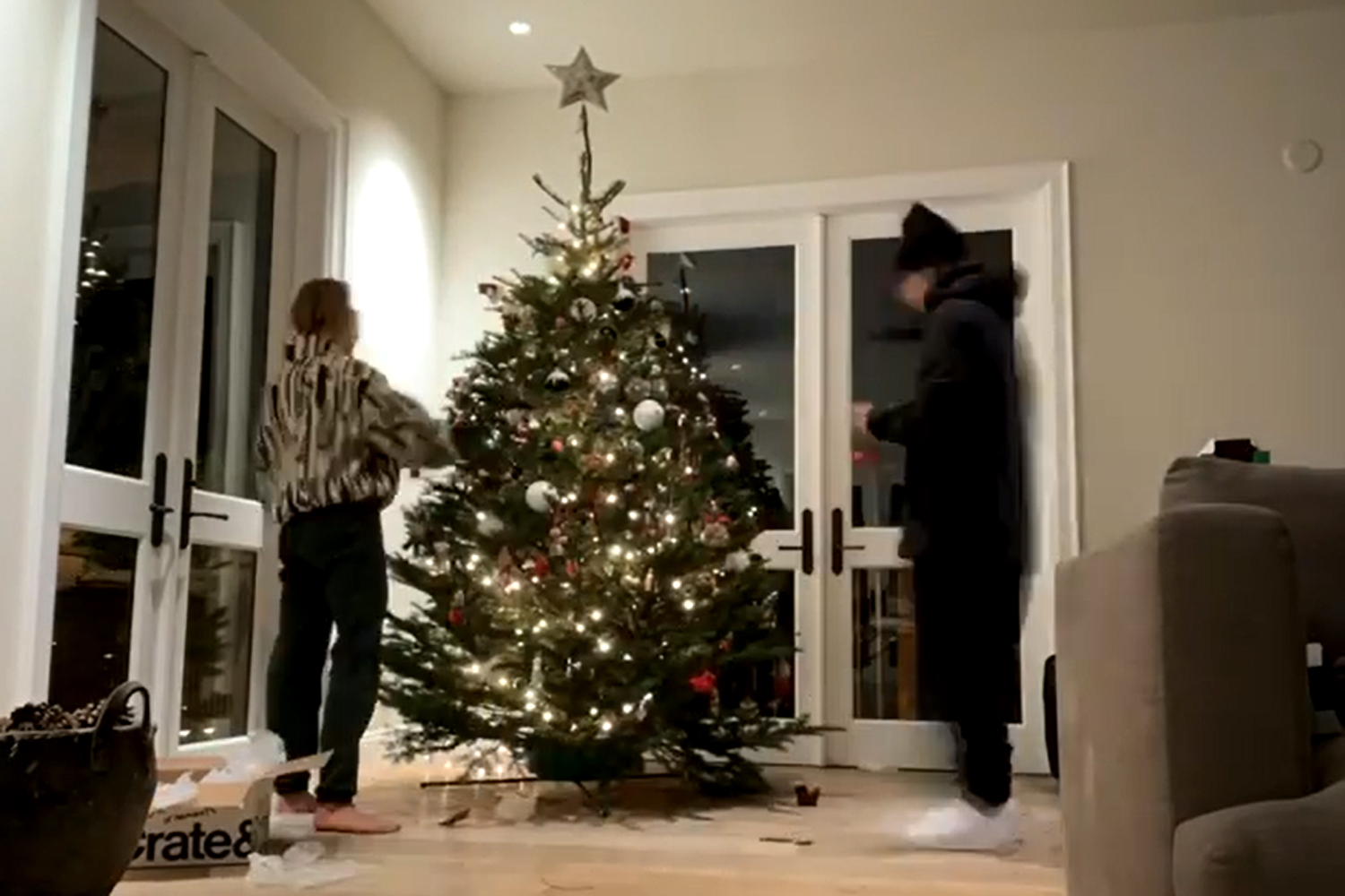 Justin Bieber Says Decorating Christmas Tree Is 'Way Better' with Wife Hailey Baldwin