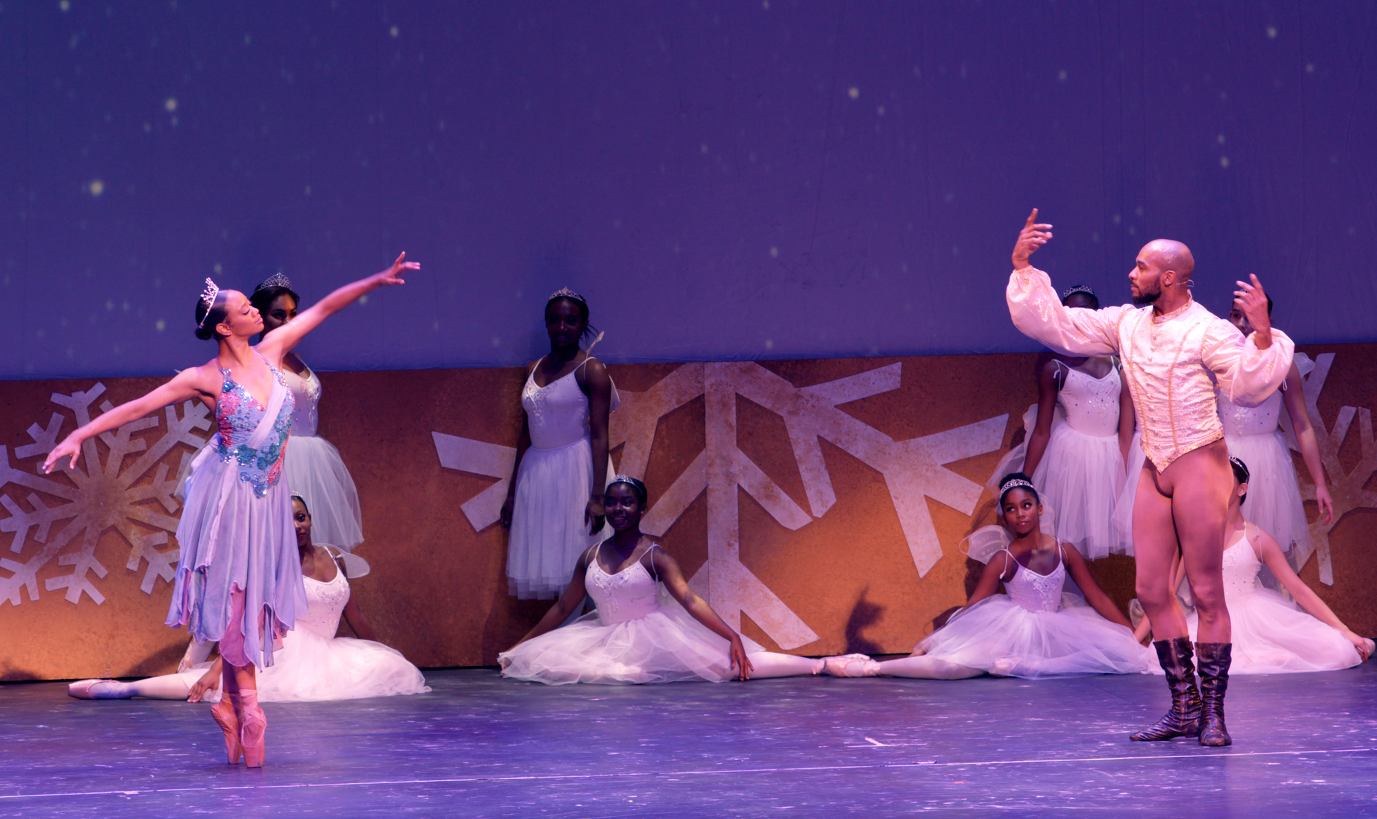 Kylie Jefferson in Dance Dreams: Hot Chocolate Nutcracker