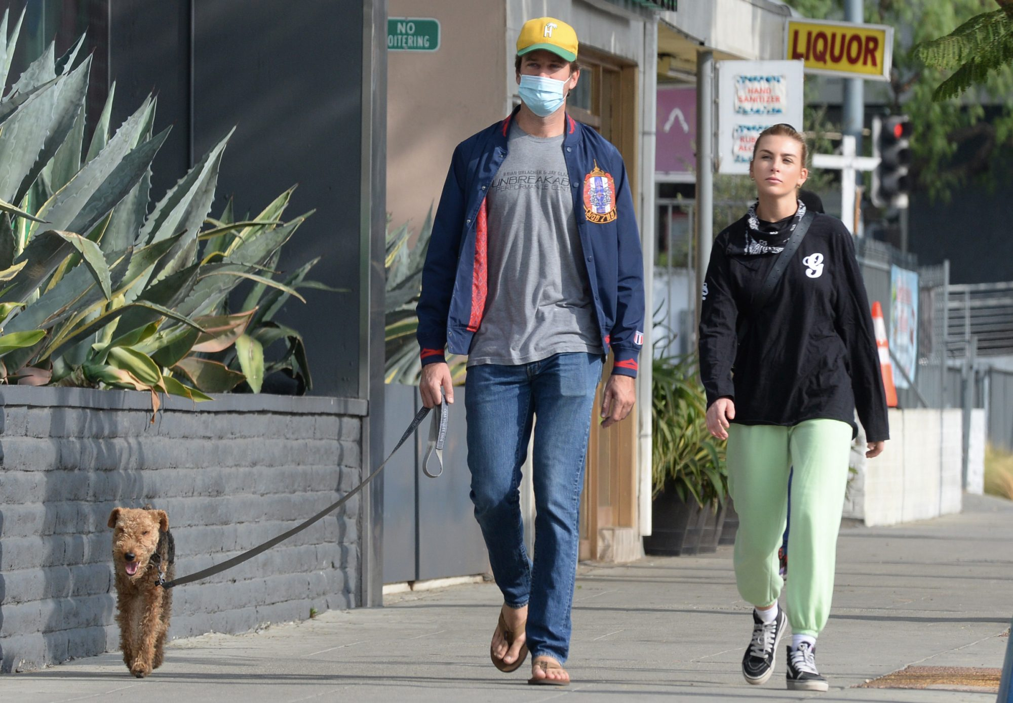 Armie Hammer is Spotted Stepping Out With Model Paige Lorenze in Los Angeles.