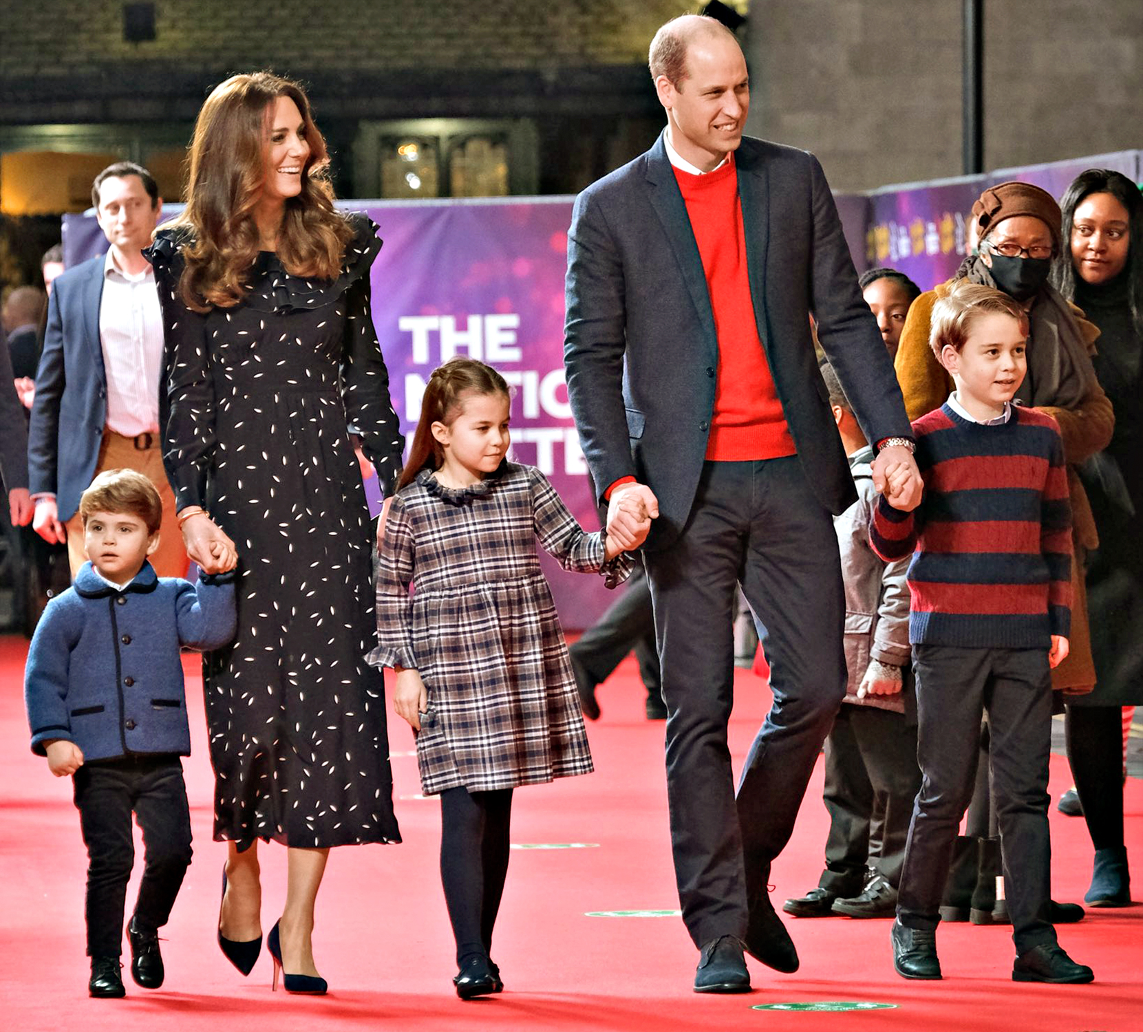 Kate Middleton, Prince William, family