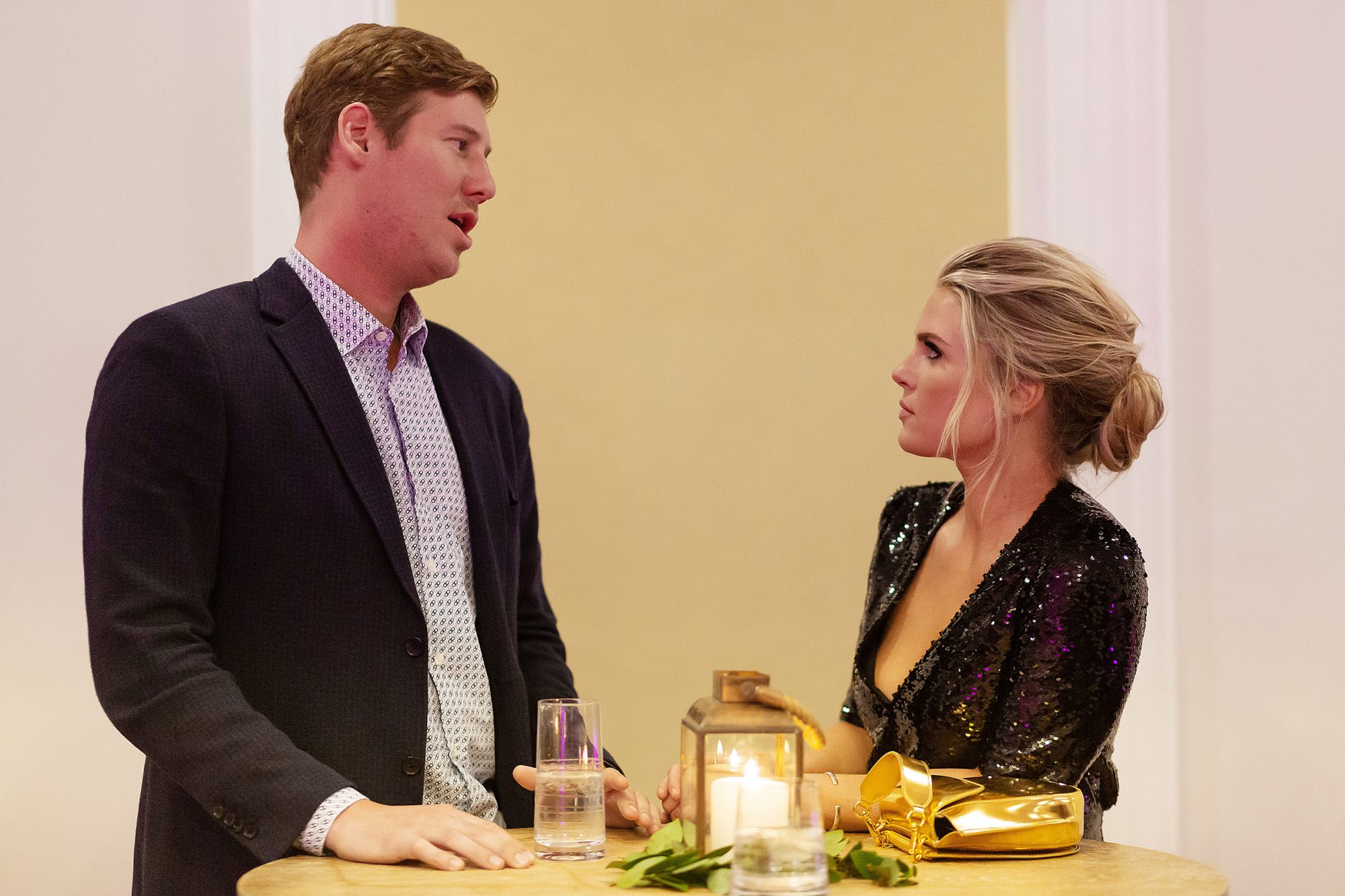 "SOUTHERN CHARM -- ""The Good Shephard"" Episode 701 -- Pictured: (l-r) Austen Kroll, Madison LeCroy"