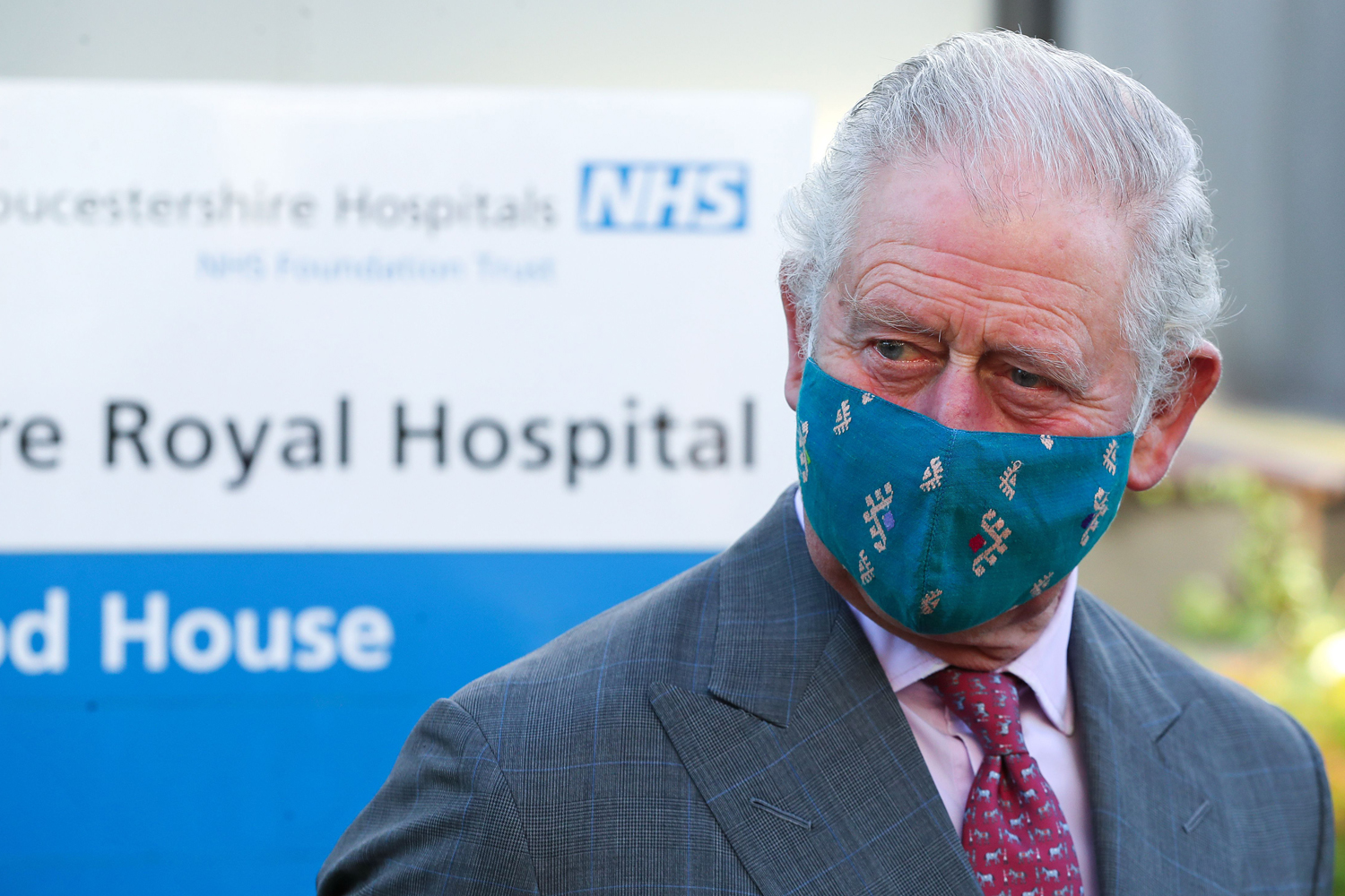 The Prince Of Wales And The Duchess Of Cornwall Visit The Gloucestershire Vaccination Centre