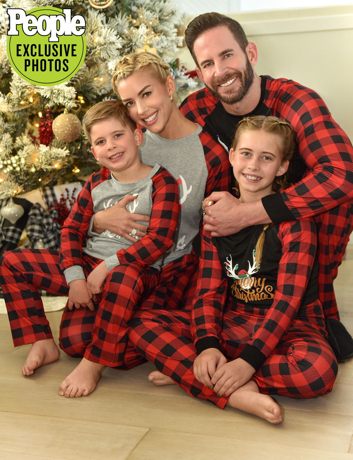 Tarek el Moussa and Heather Rae Young Christmas