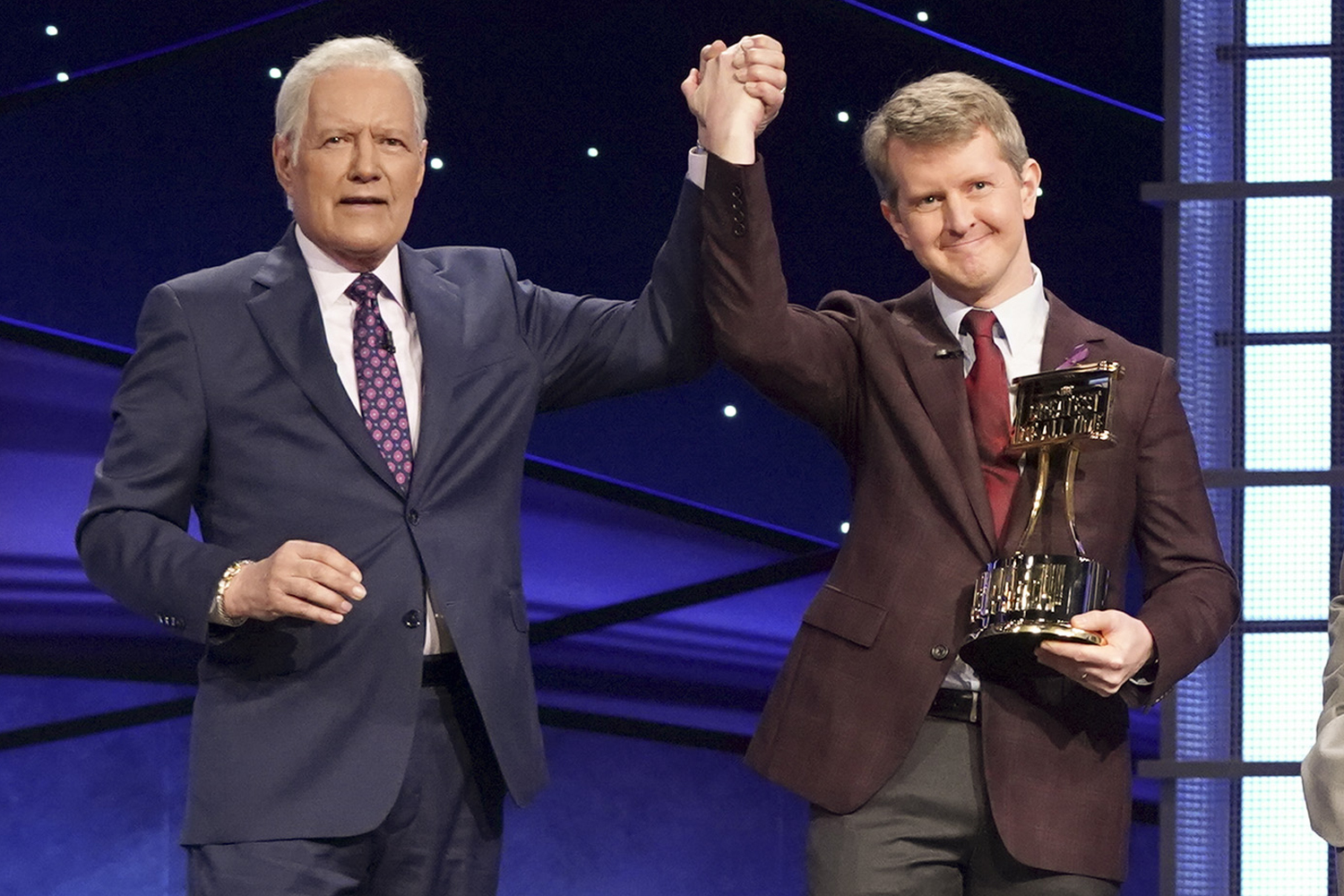 ALEX TREBEK, KEN JENNINGS
