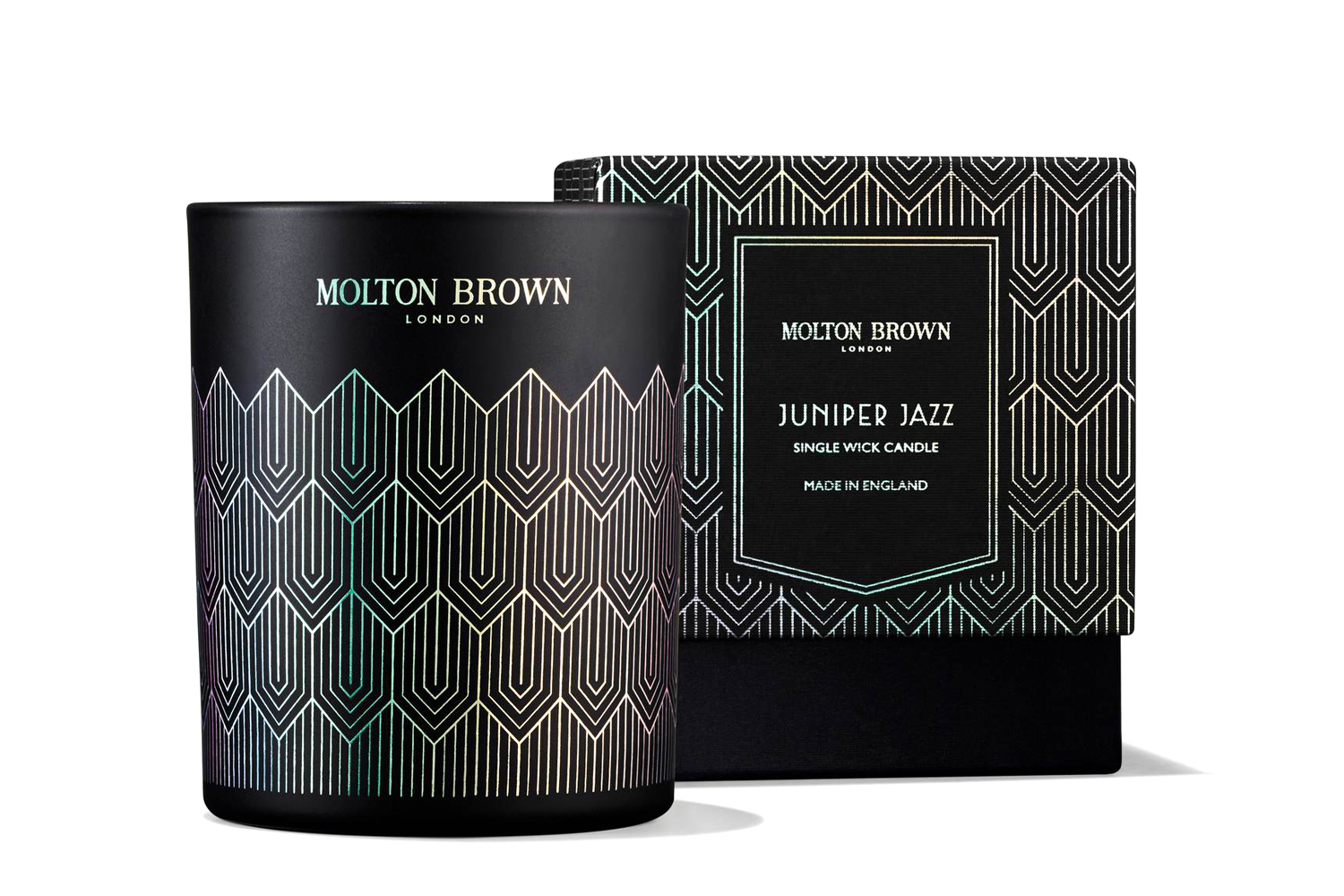 Juniper Jazz Single Wick Candle