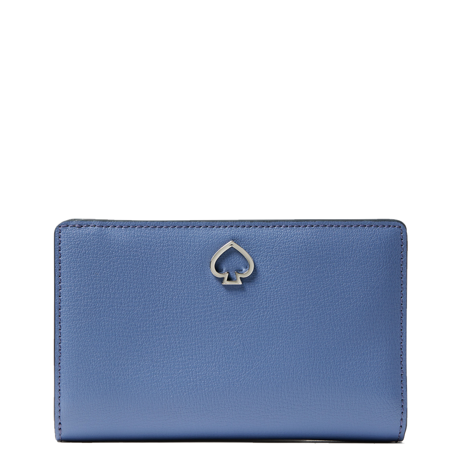 blue kate spade medium bifold wallet