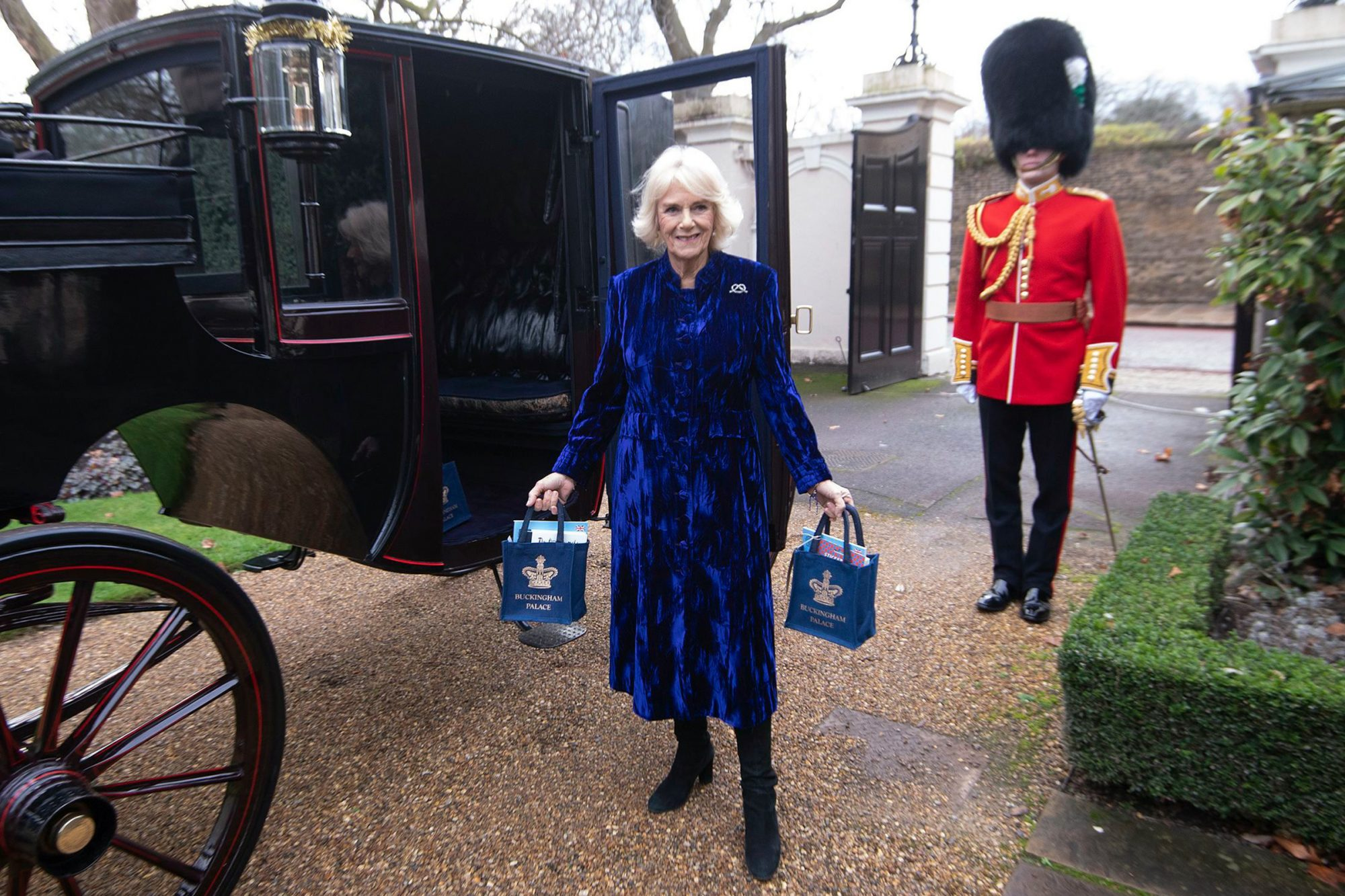 The Duchess of Cornwall virtually decorates the Clarence House Christmas tree
