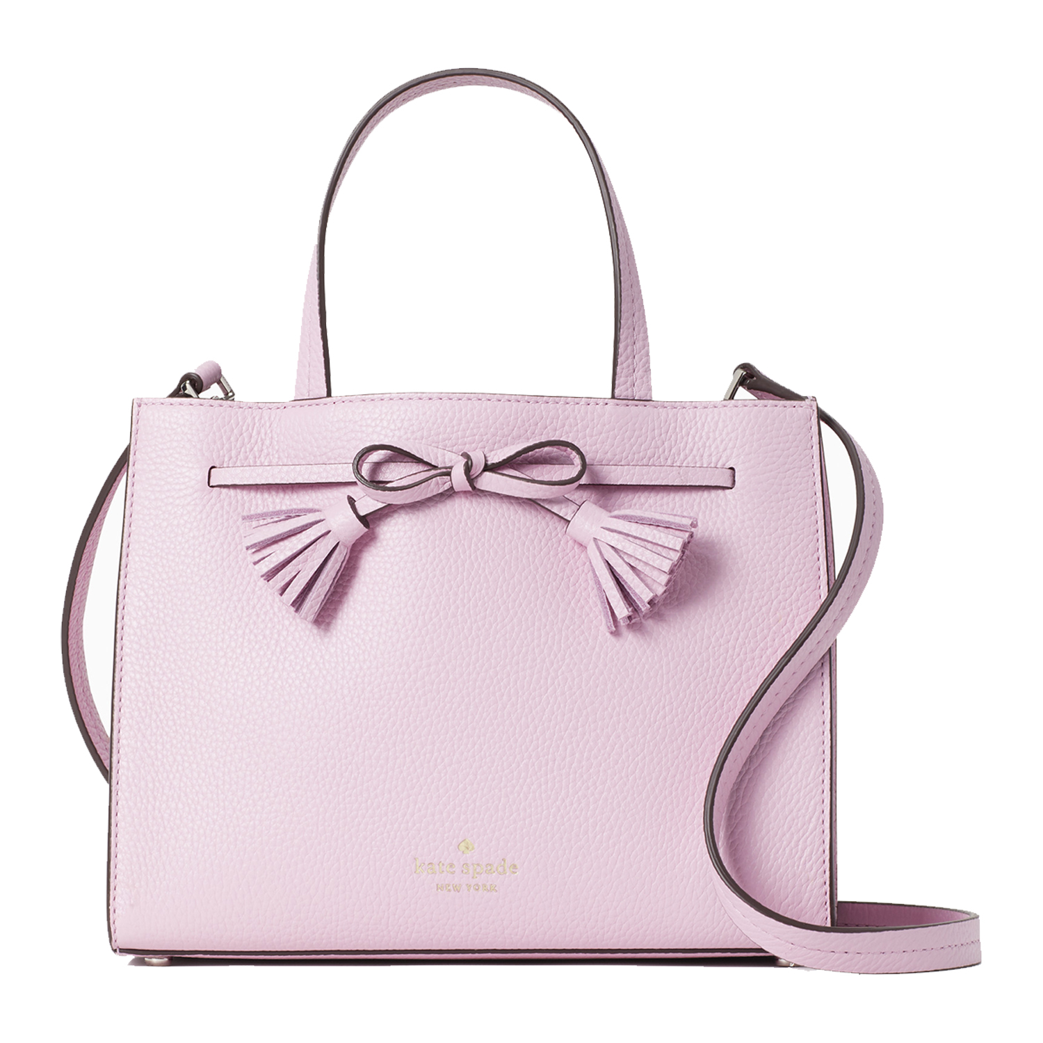pink hayes small satchel from kate spade