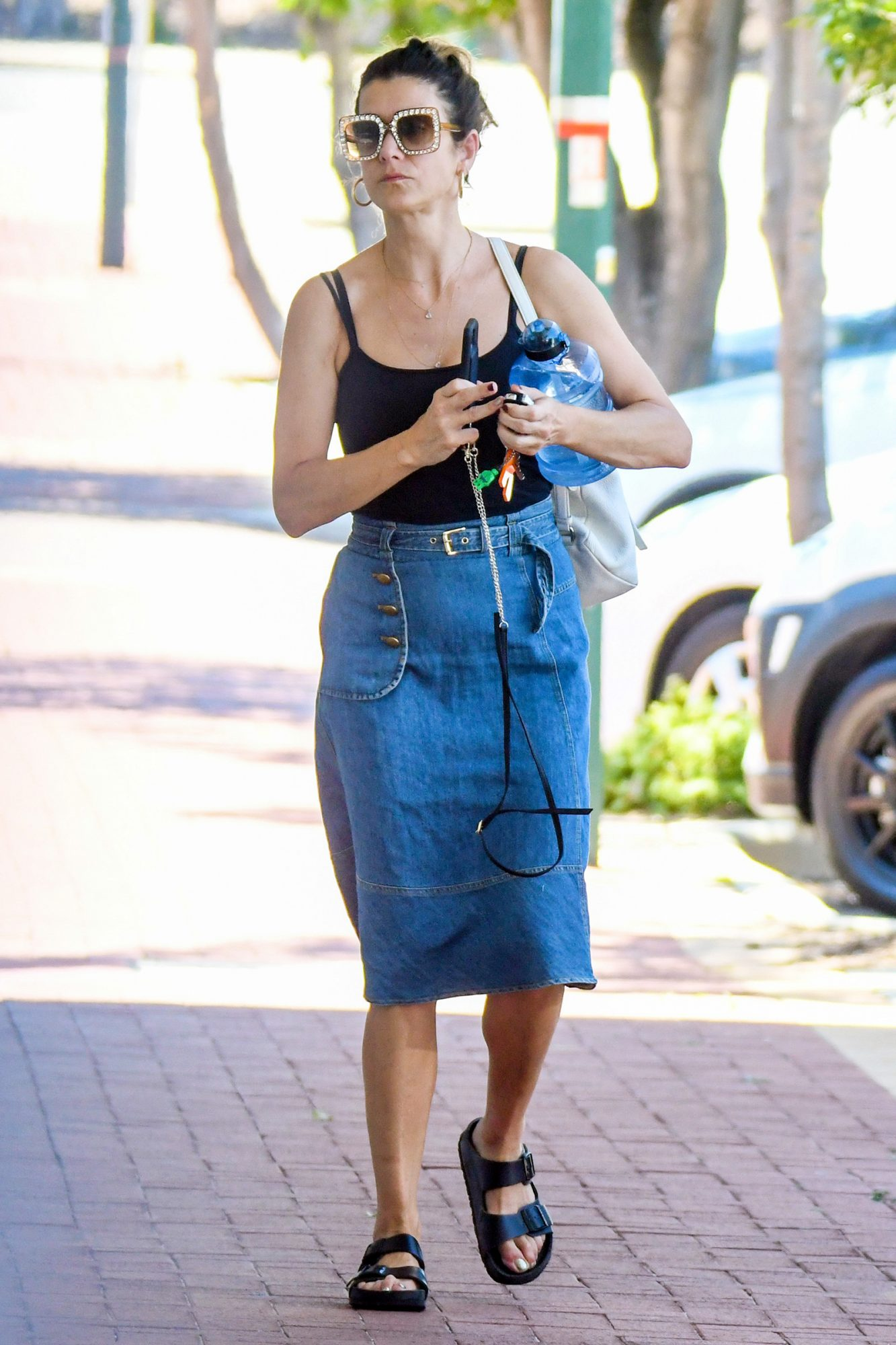 Kate Walsh, Spotted Out And About In Her New Home Town Of Perth, In Western Australia