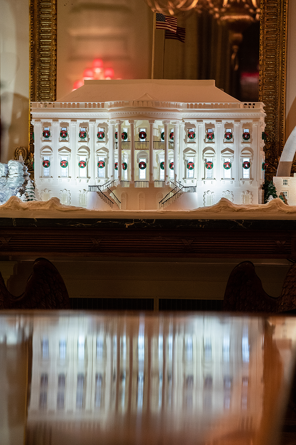 White House gingerbread house