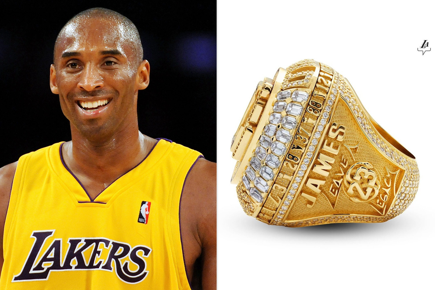 Kobe Bryant Lakers Championship Ring