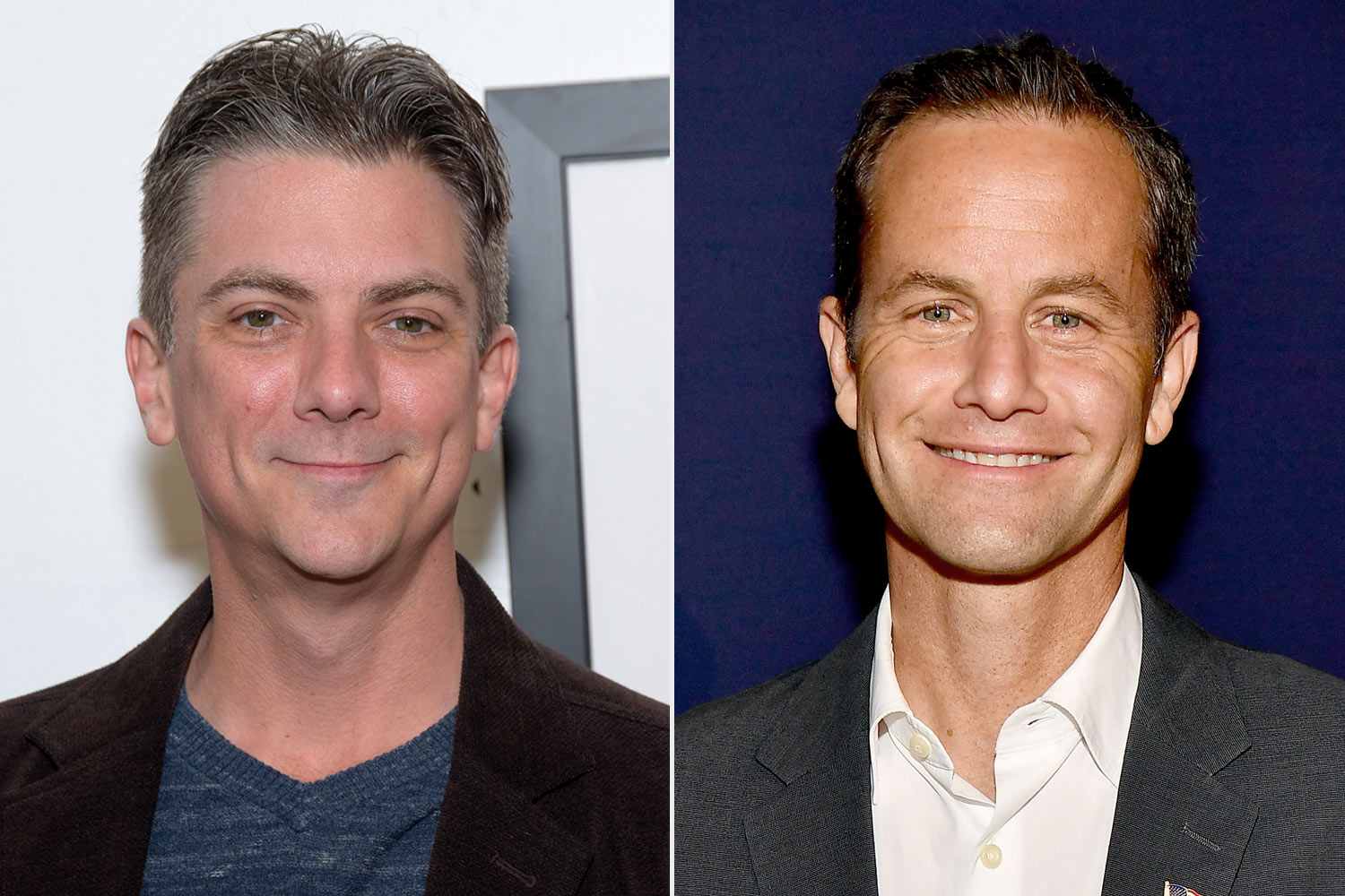 Jeremy Miller and Kirk Cameron