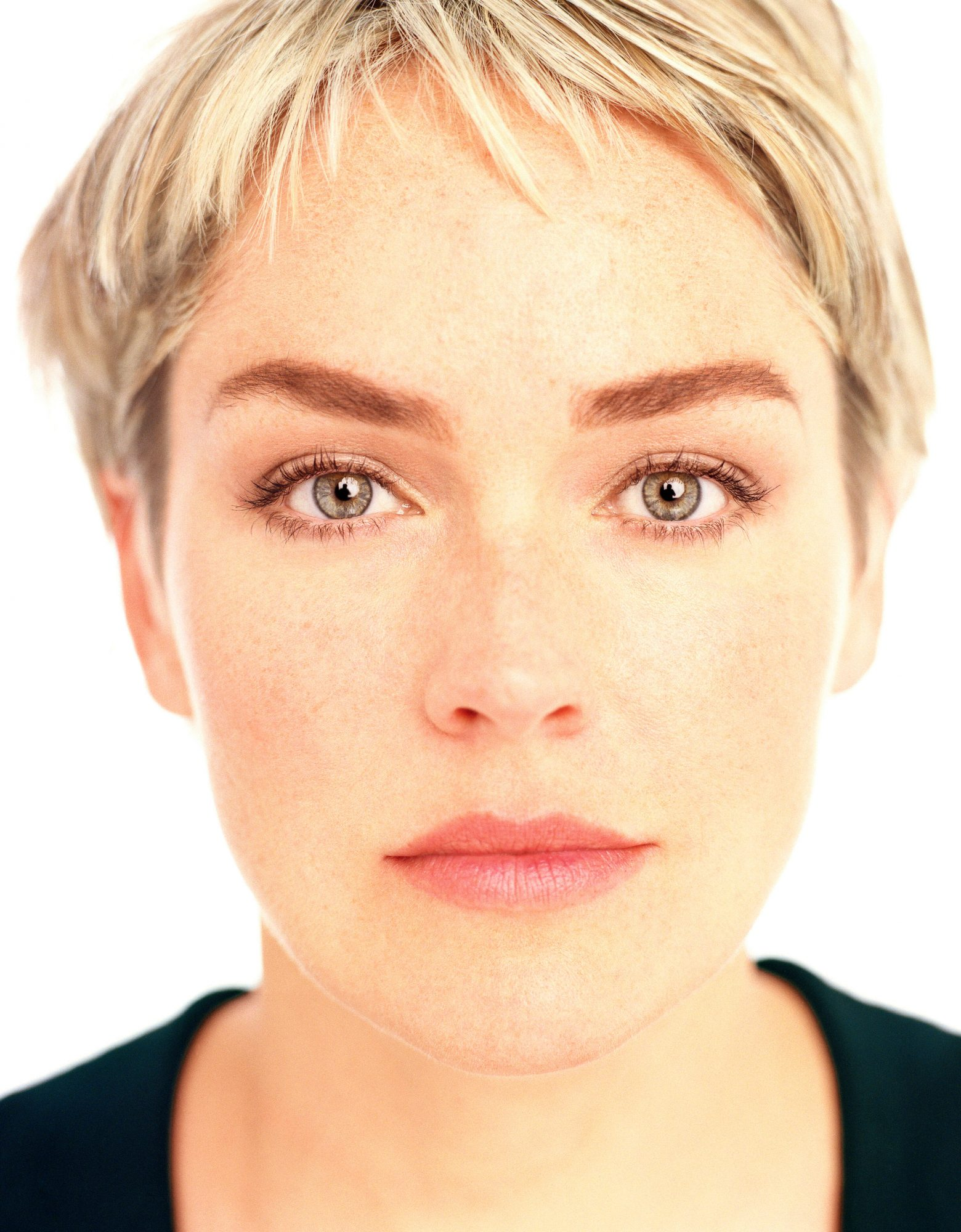Look at Me by Firooz Shahedi photo book - sharon stone