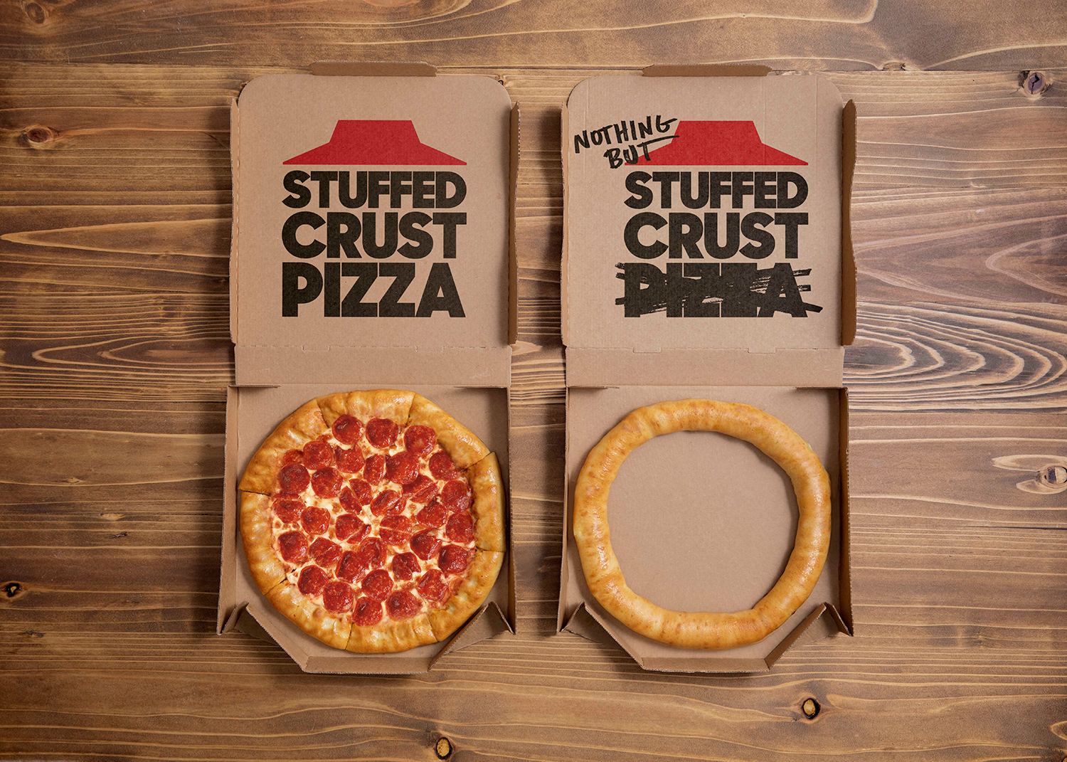 Nothing but stuffed crust