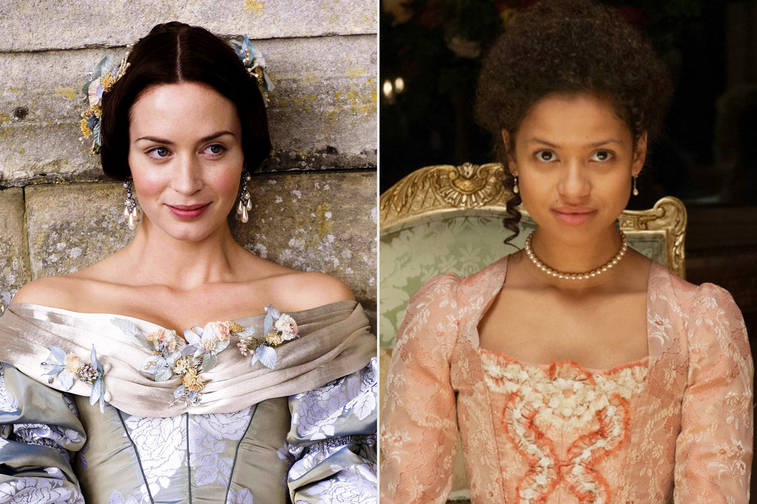 The Young Victoria, Belle, Emily Blunt, Gugu Mbatha-Raw